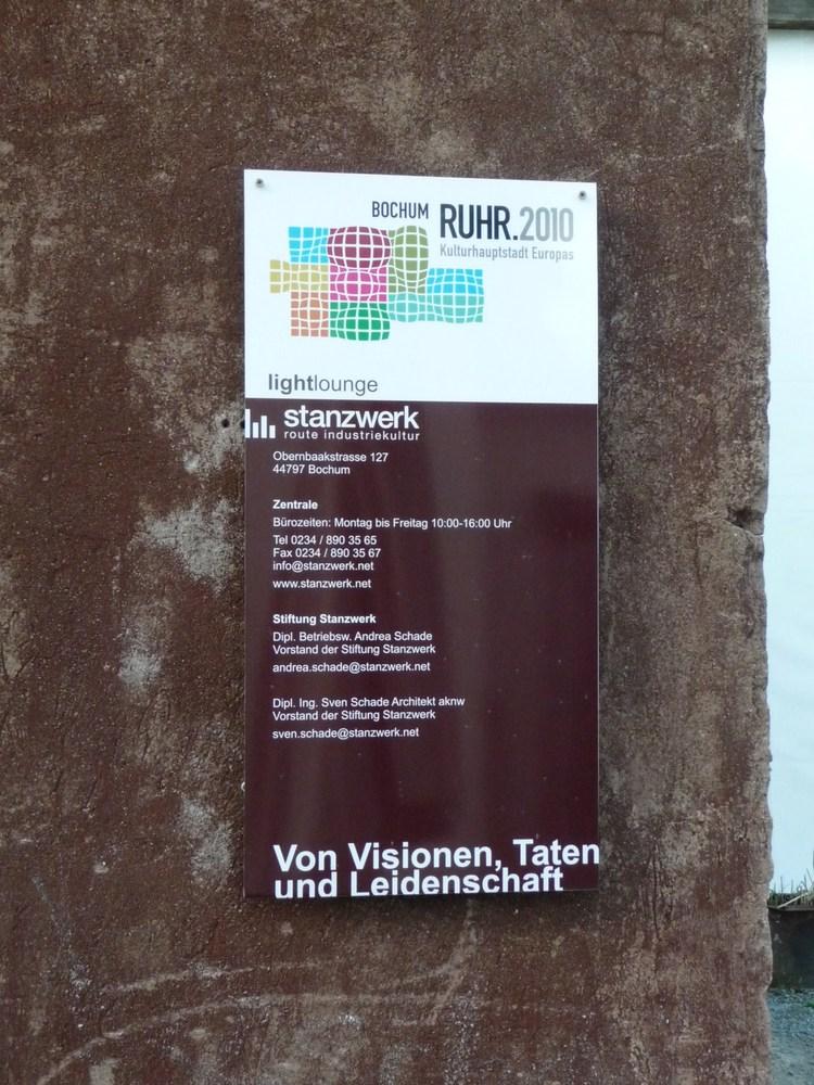 Impressionen vom #Stanzwerk #Bochum - Route Industriekultur - #ruhr2010