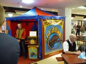 Das kleinste Zirkuszelt der Welt