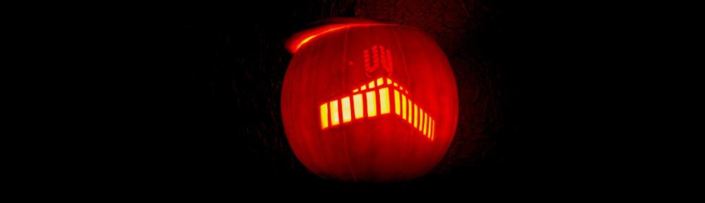 Halloween-Kürbis meets Dortmunder U