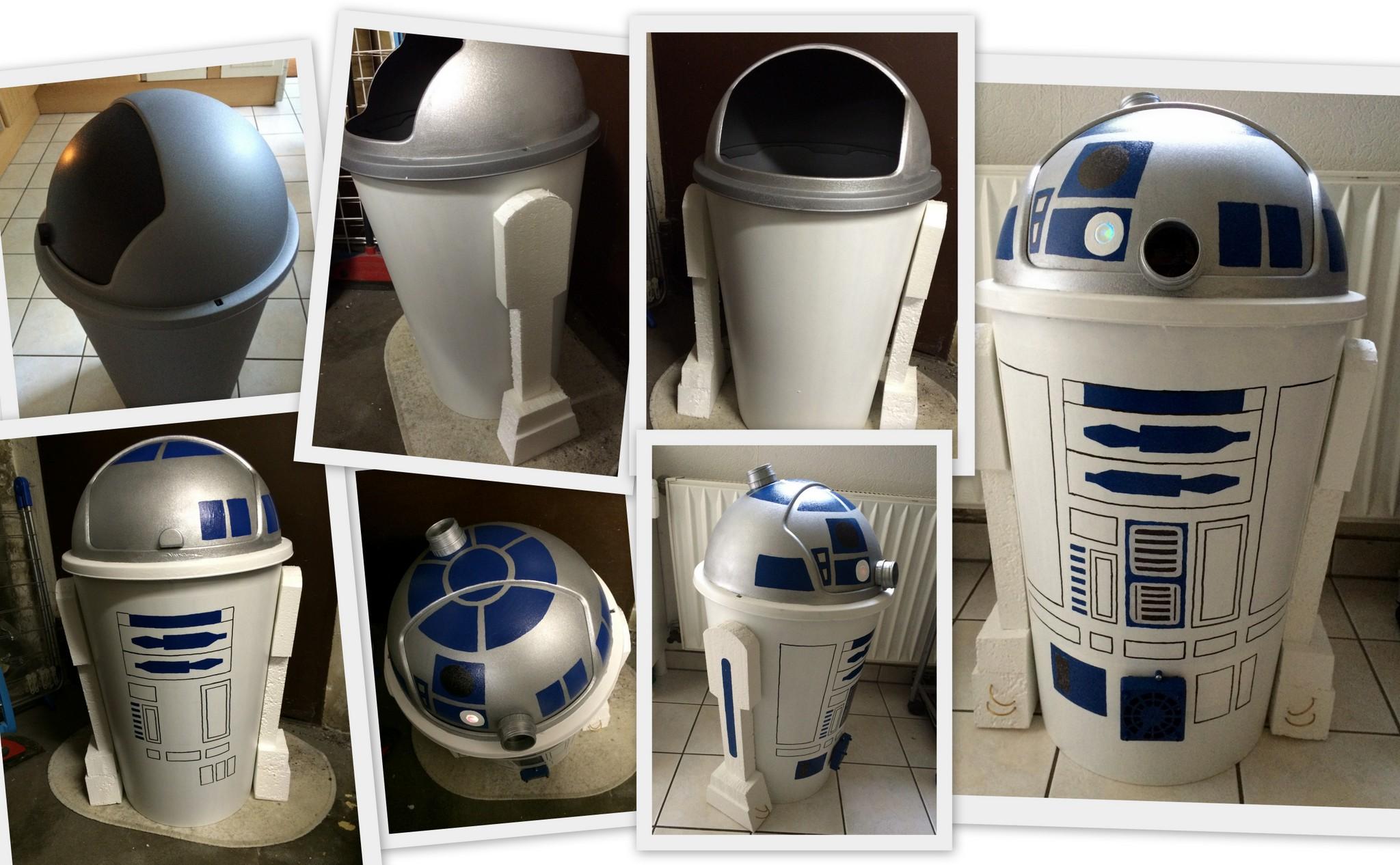 R2D2 – vom kleinen Mülleimer zum Droiden