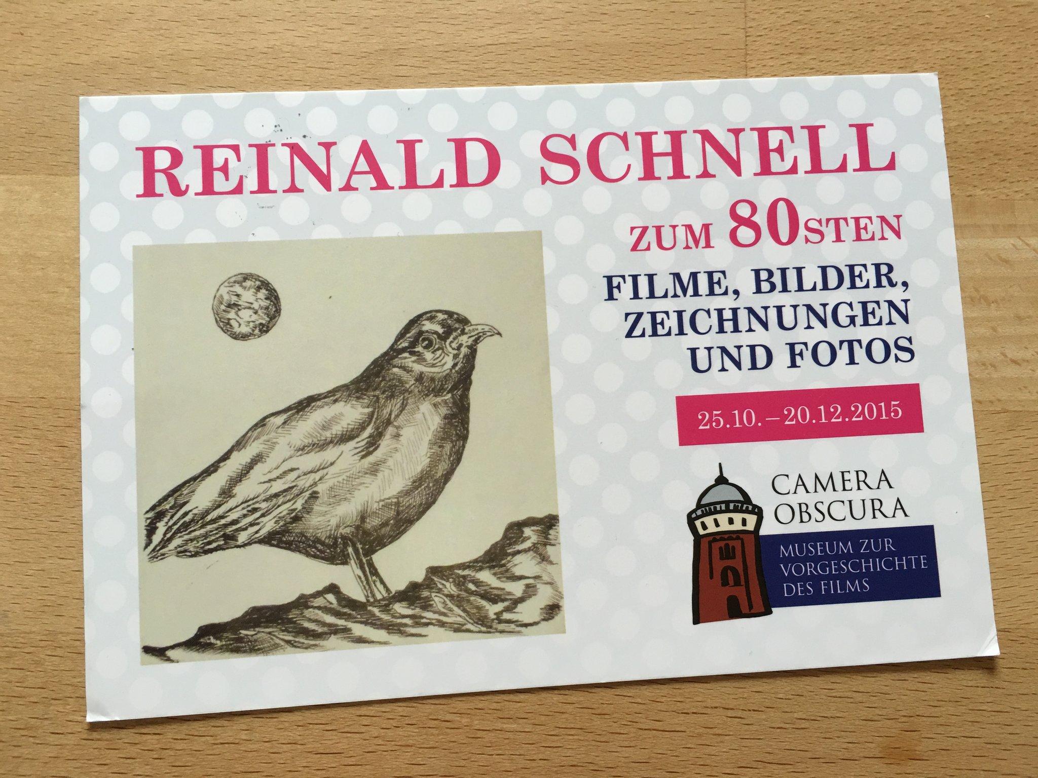 Wechselausstellung in der Camera Obscura: Reinald Schnell