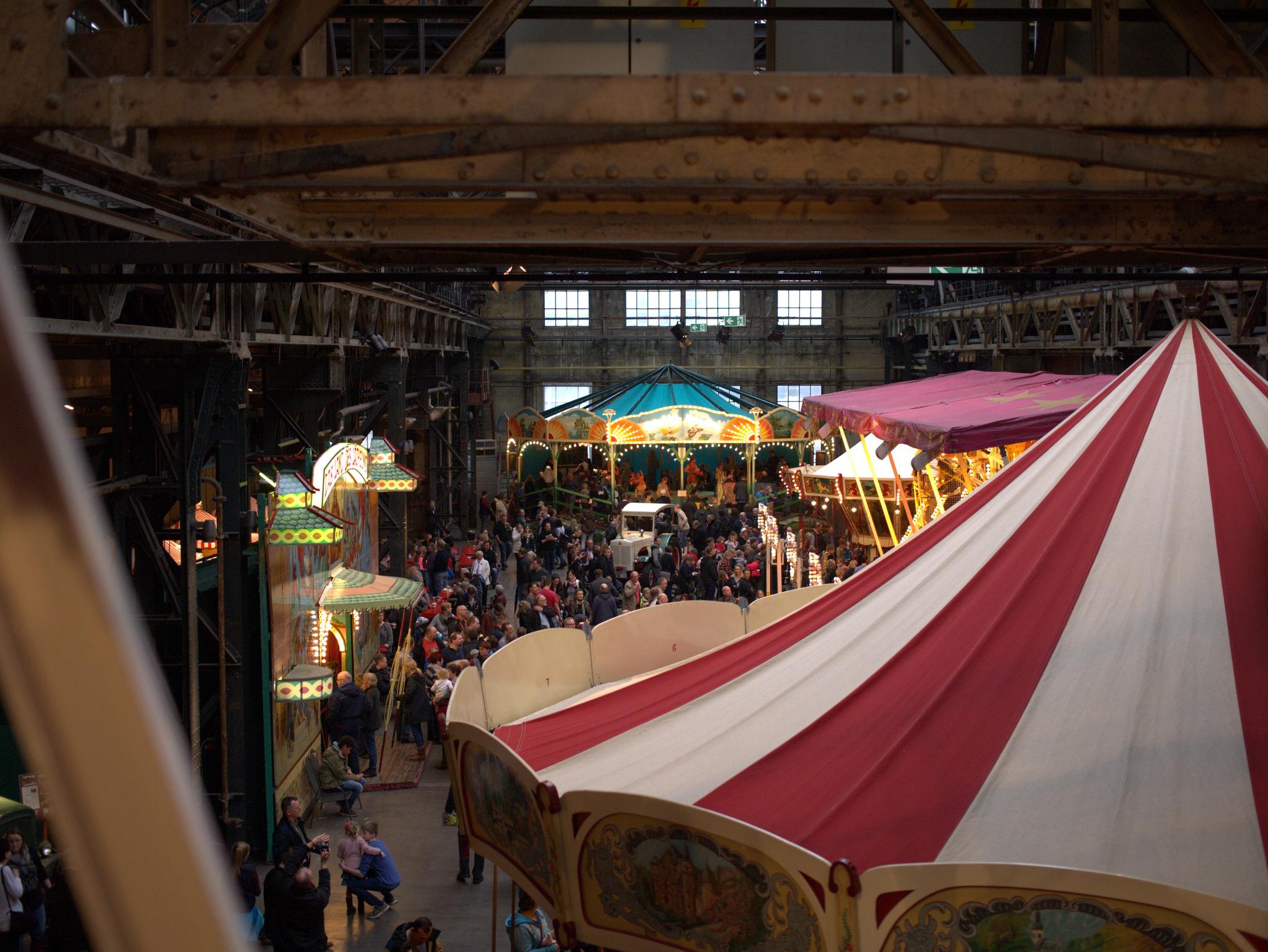 Historischer Jahrmarkt Jahrhunderthalle Bochum 2016