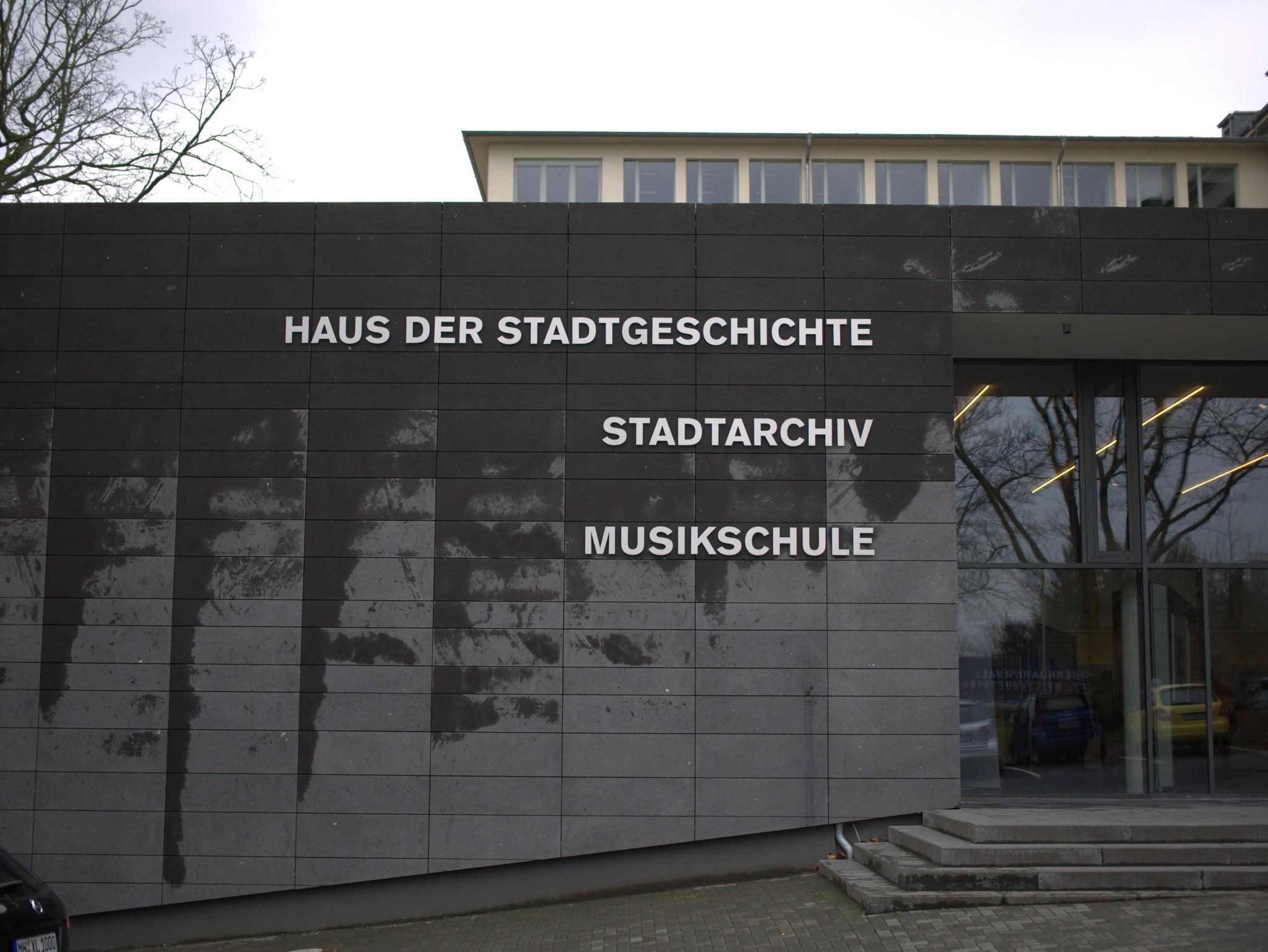 All-in-One: Haus der Stadtgeschichte, Stadtarchiv und Musikschule
