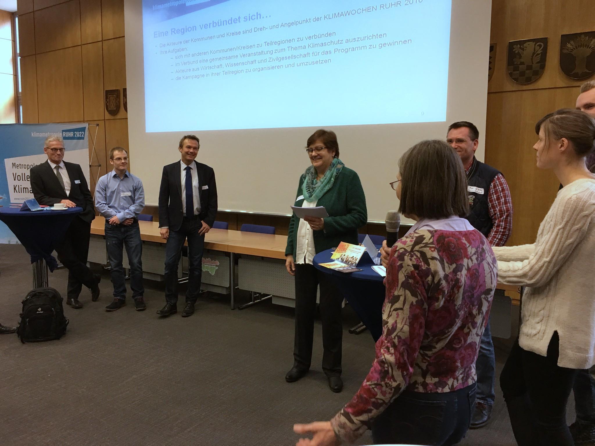 VLNR: Die Vertreter vom rechtsrheinischen und linksrheinischen Kreis Wesel