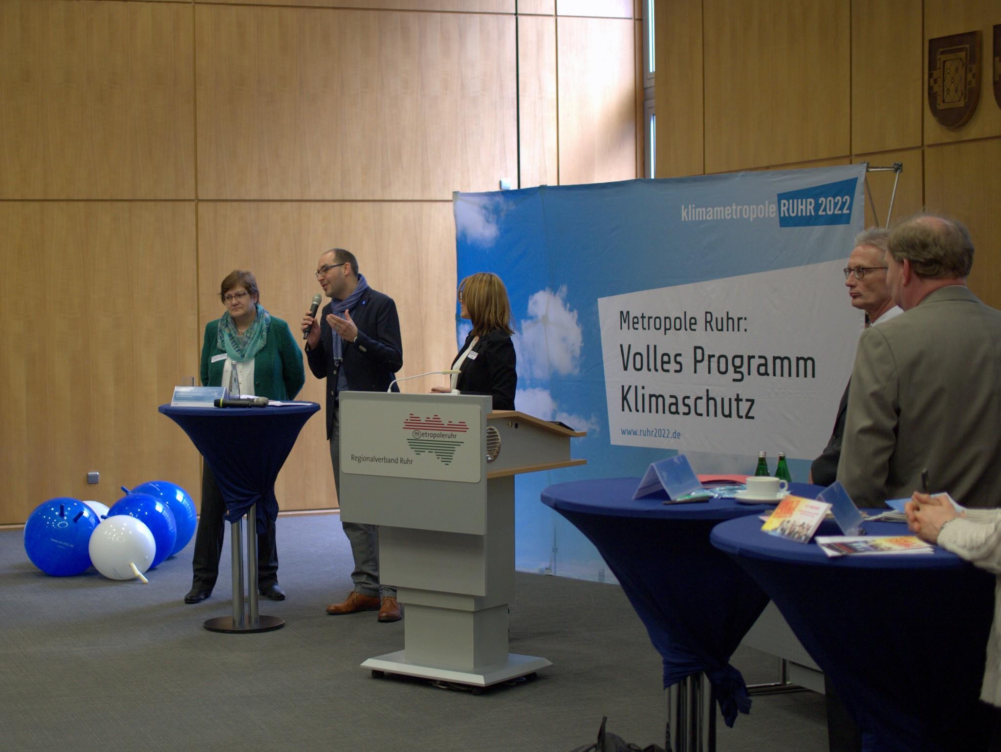 VLNR: Vorstellung durch Fr. Karola Geiß-Netthöfel, Hr. Jens Hapke, Fr. Simone Schubert
