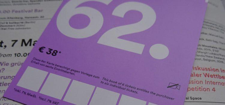 Gewinnt ein 6er-Ticket für die 62. Kurzfilmtage Oberhausen