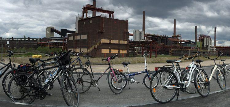 Mit den Klimawochen Ruhr über das UNESCO-Welterbe Zollverein – eine Fahrradexkursion