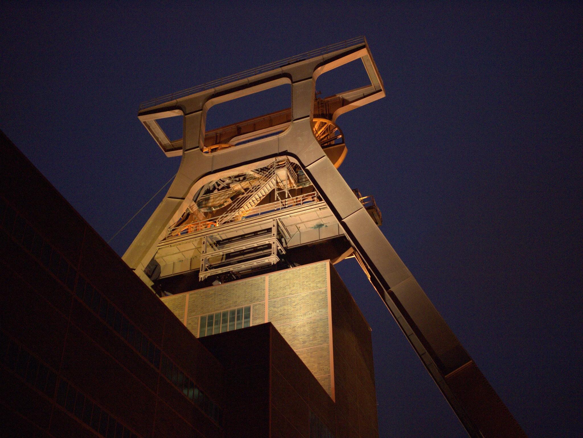 Zeche Zollverein Fördergerüst