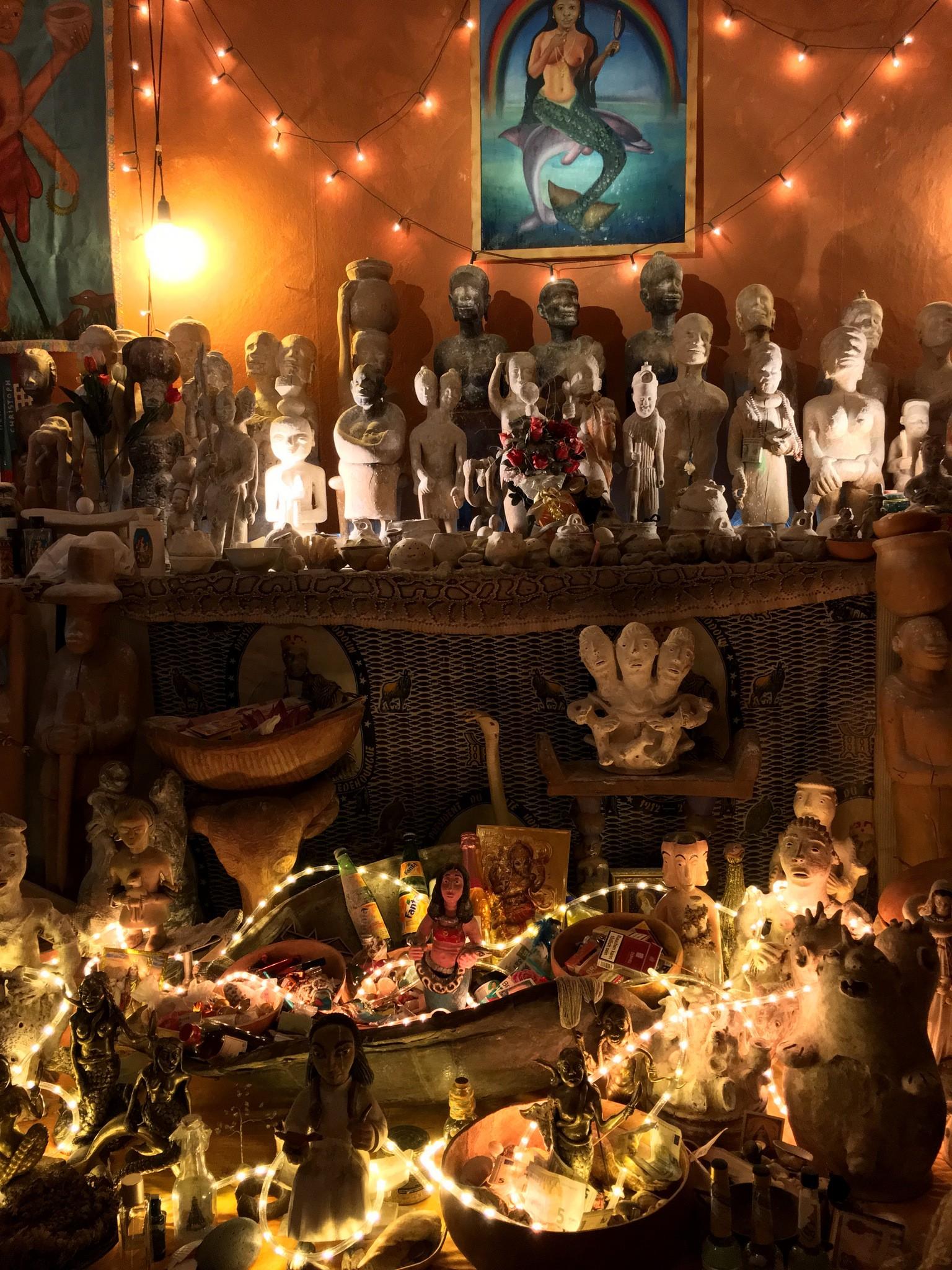 Der Mami Wata Altar.