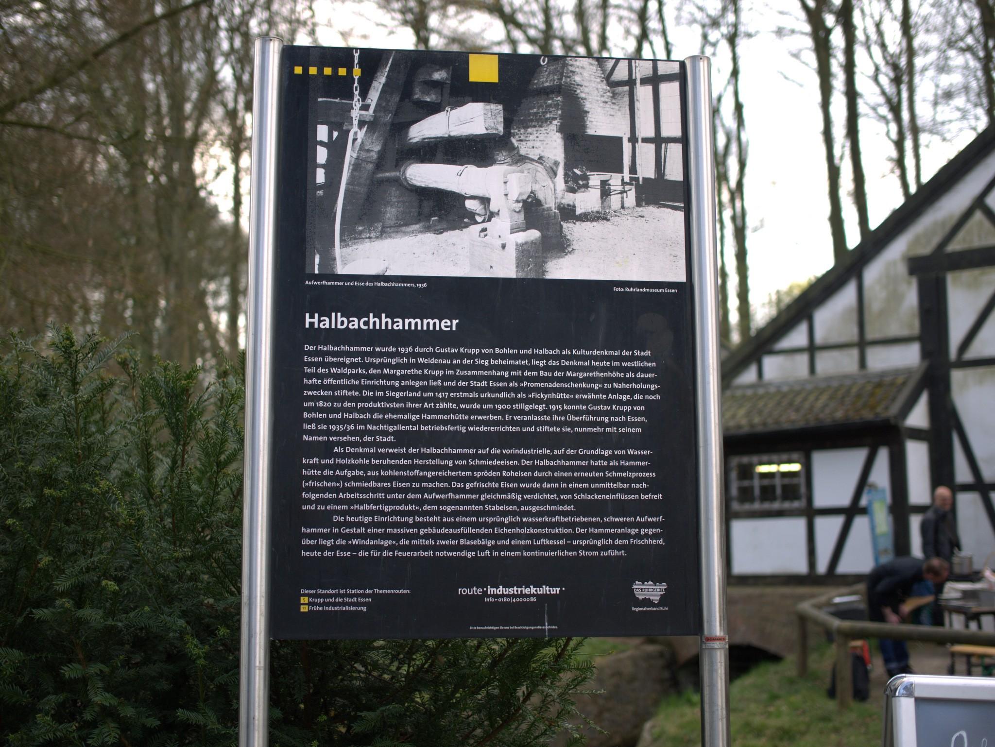 Der Halbachhammer ist Teil der Route Industriekultur