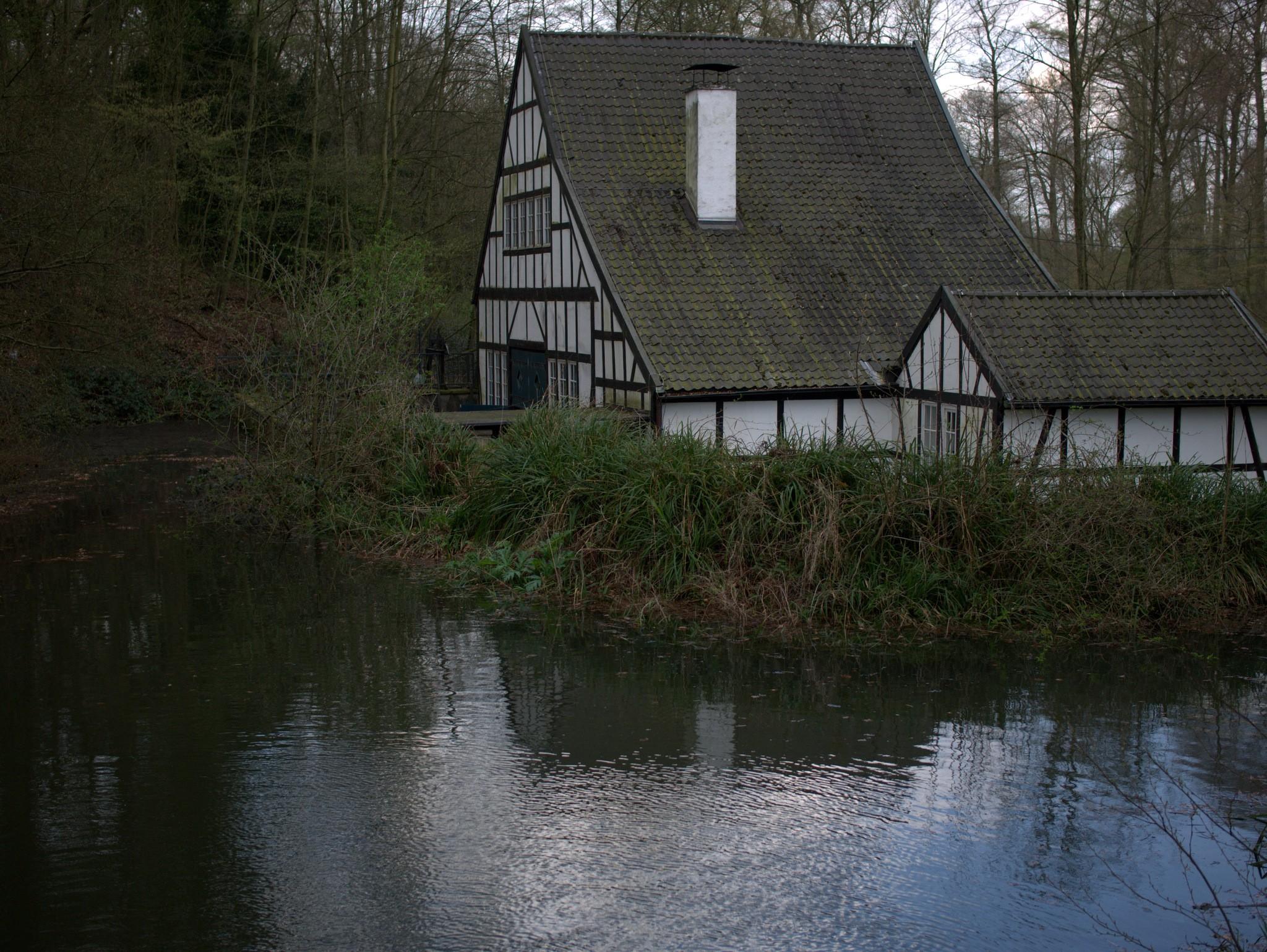 Das Gebäude des Halbachhammers