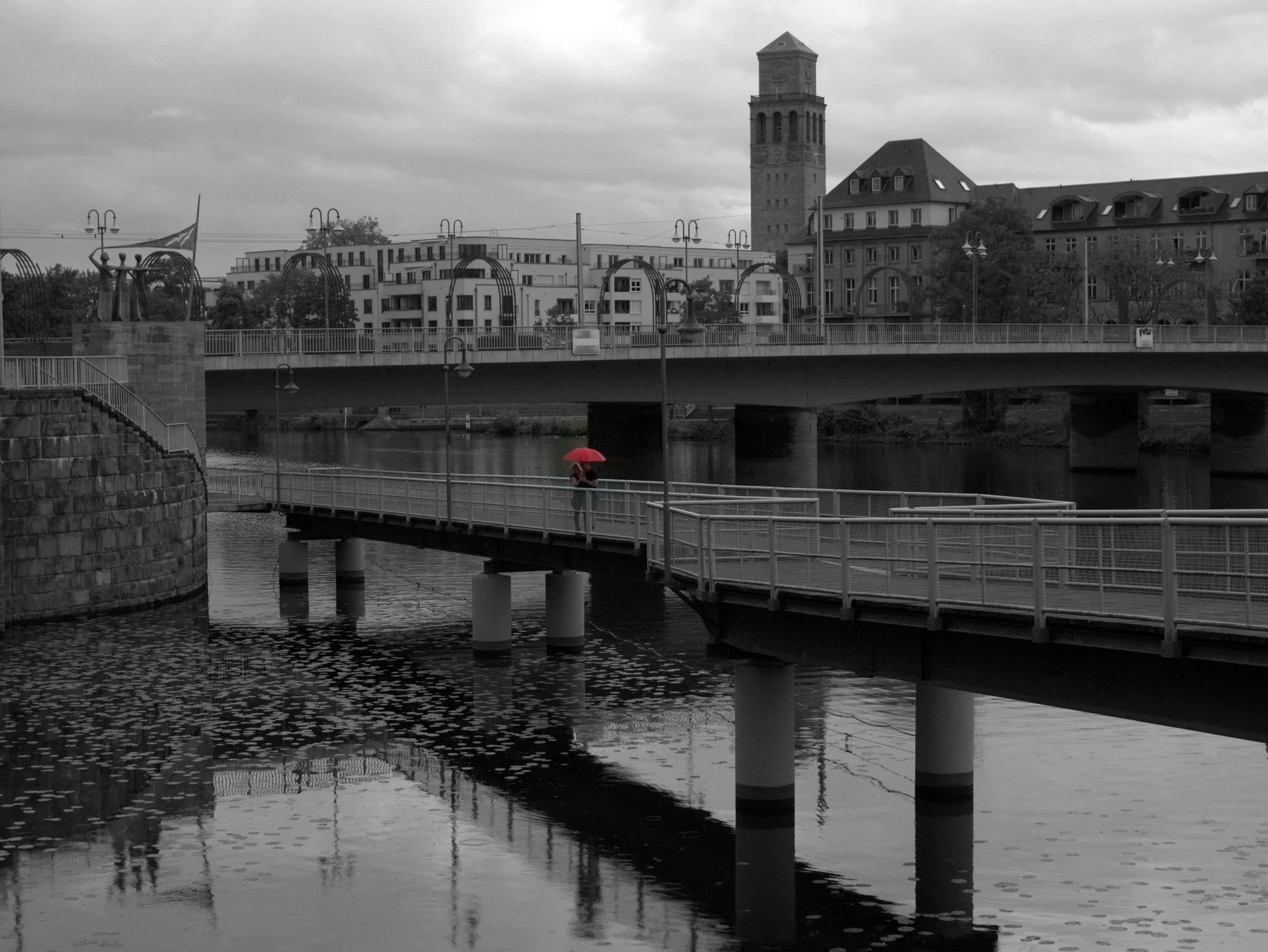 Liebe im Regen - Mülheim an der Ruhr