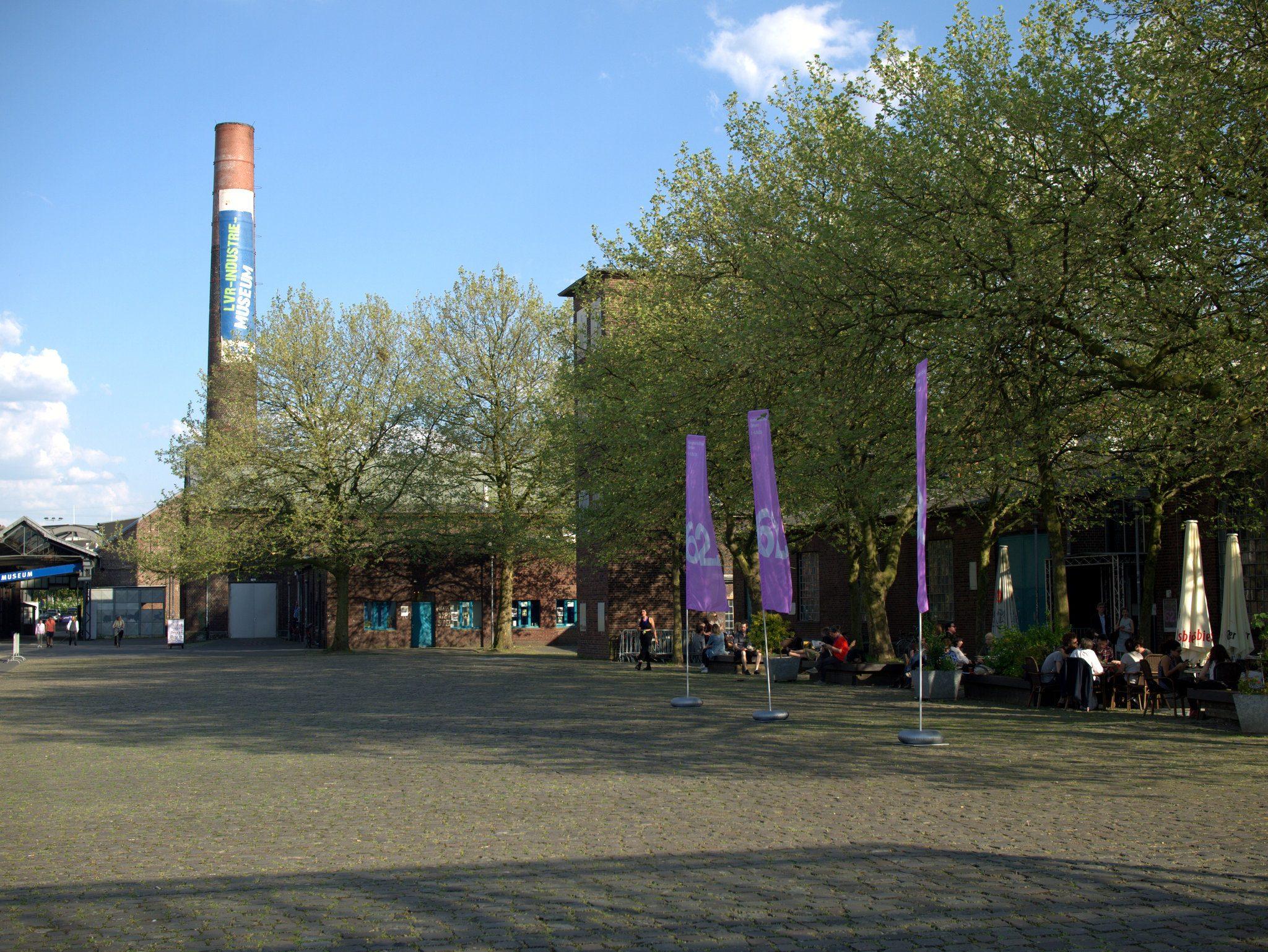 Am LVR Industriemuseum Altenberg, Oberhausen.