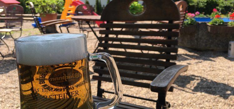 Der kleine Biergarten-Test: Biergärten entlang des Radschnellwegs Mülheim – Essen