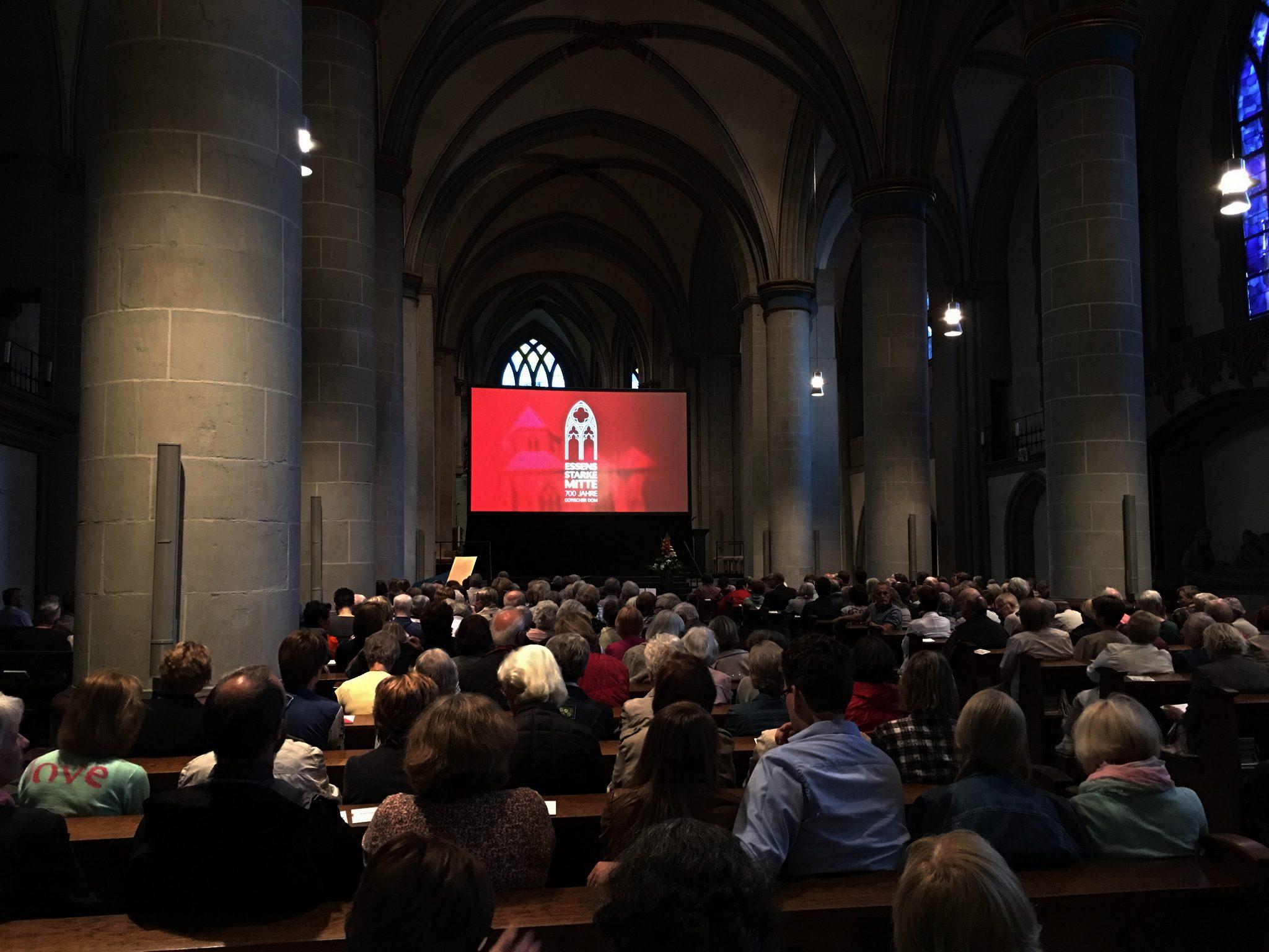 Essens starke Mitte - 700 Jahre gotischer Dom.