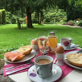 Frühstück im Park: Arboretum Essen