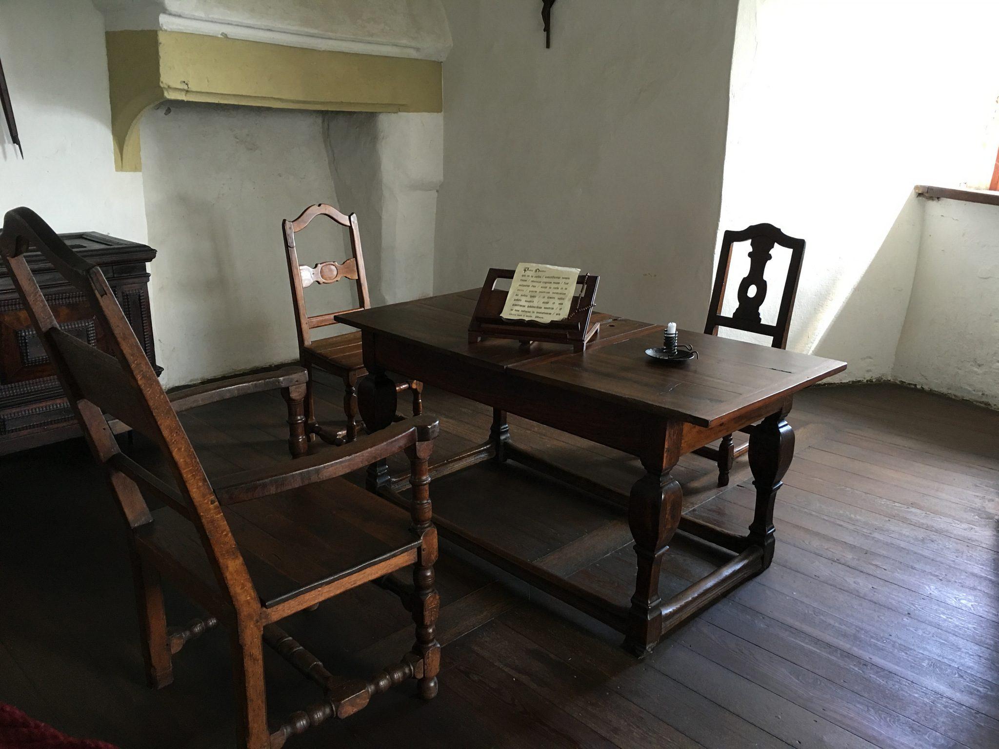 Ein Schreibzimmerchen.