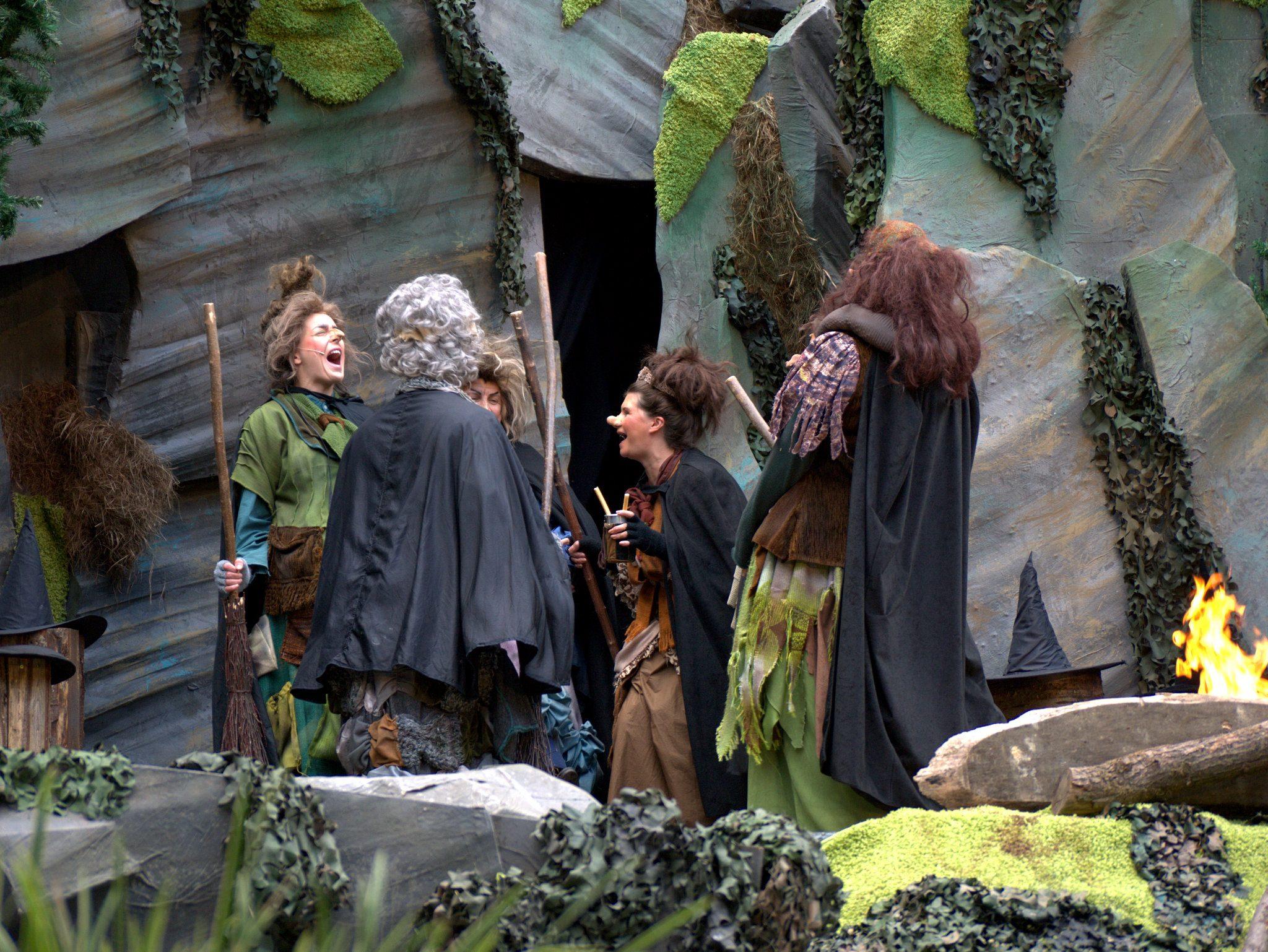 Die Hexen am Blocksberg haben ne ganz schön gruslige Lache!