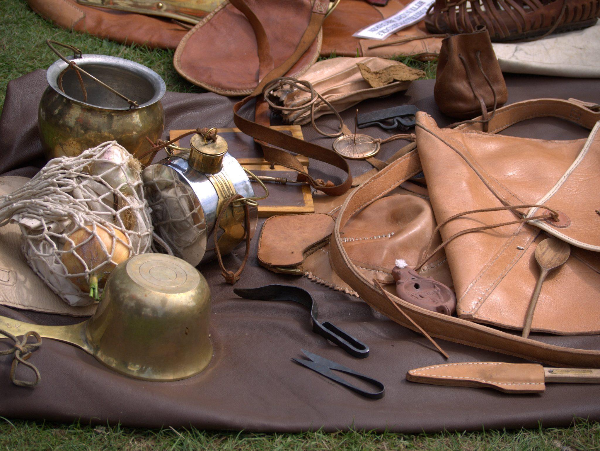 Noch mehr römisches Equipment.