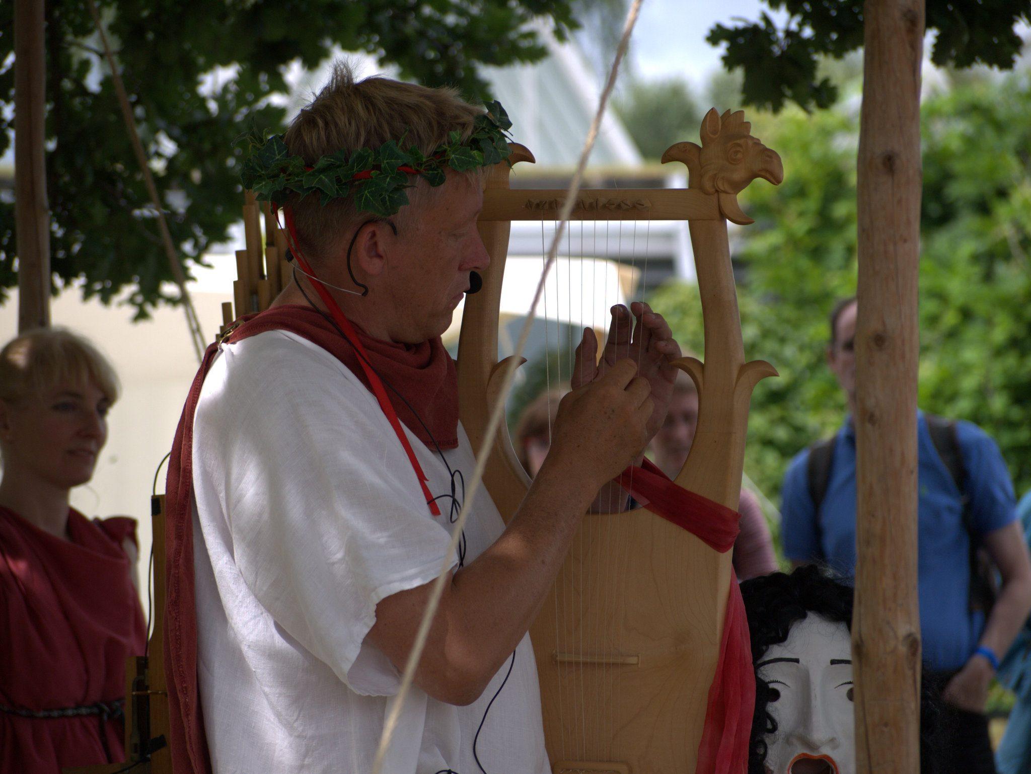 Ein römischer Troubadix!