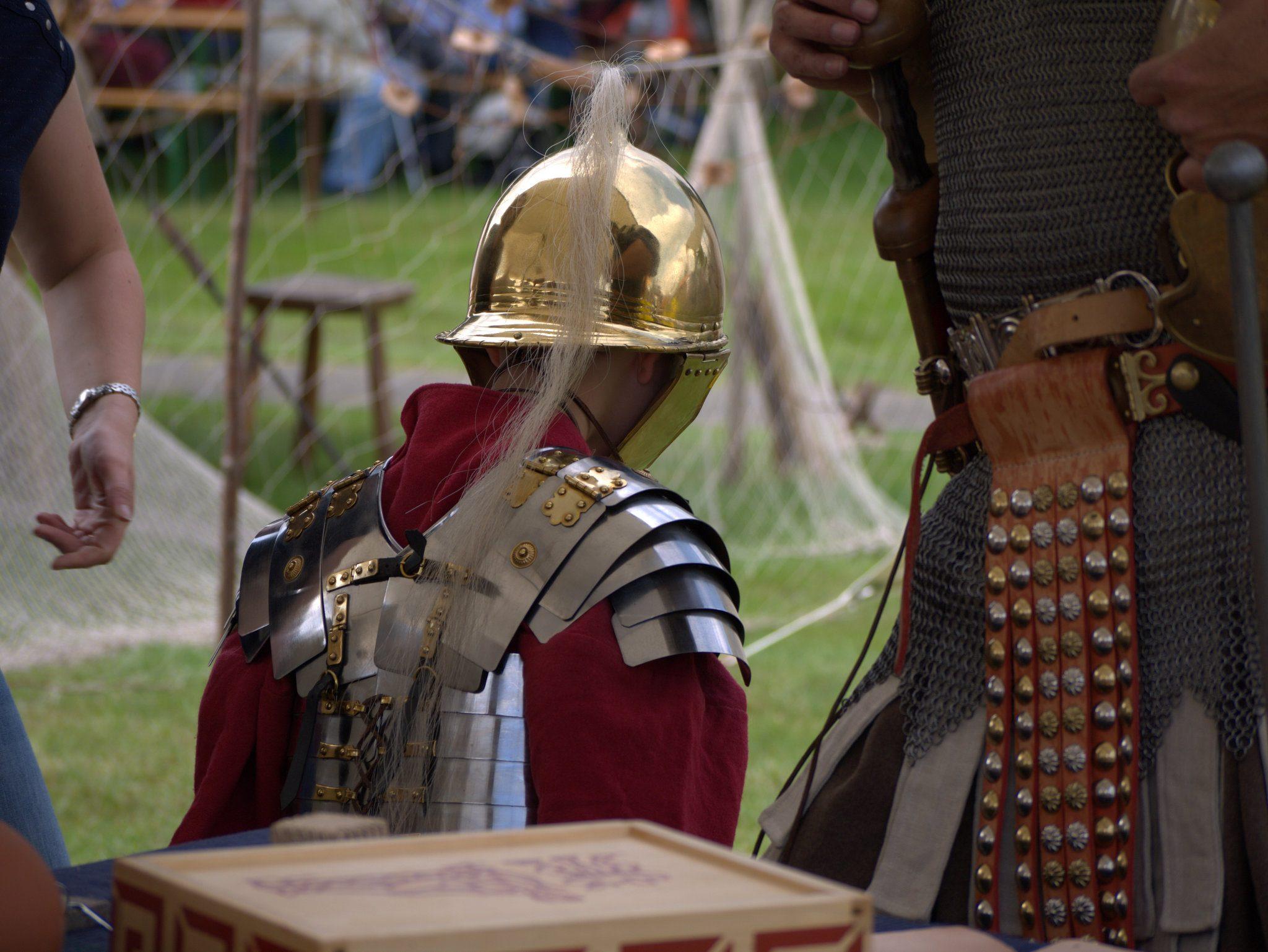 So klein und schon bei den Römern!
