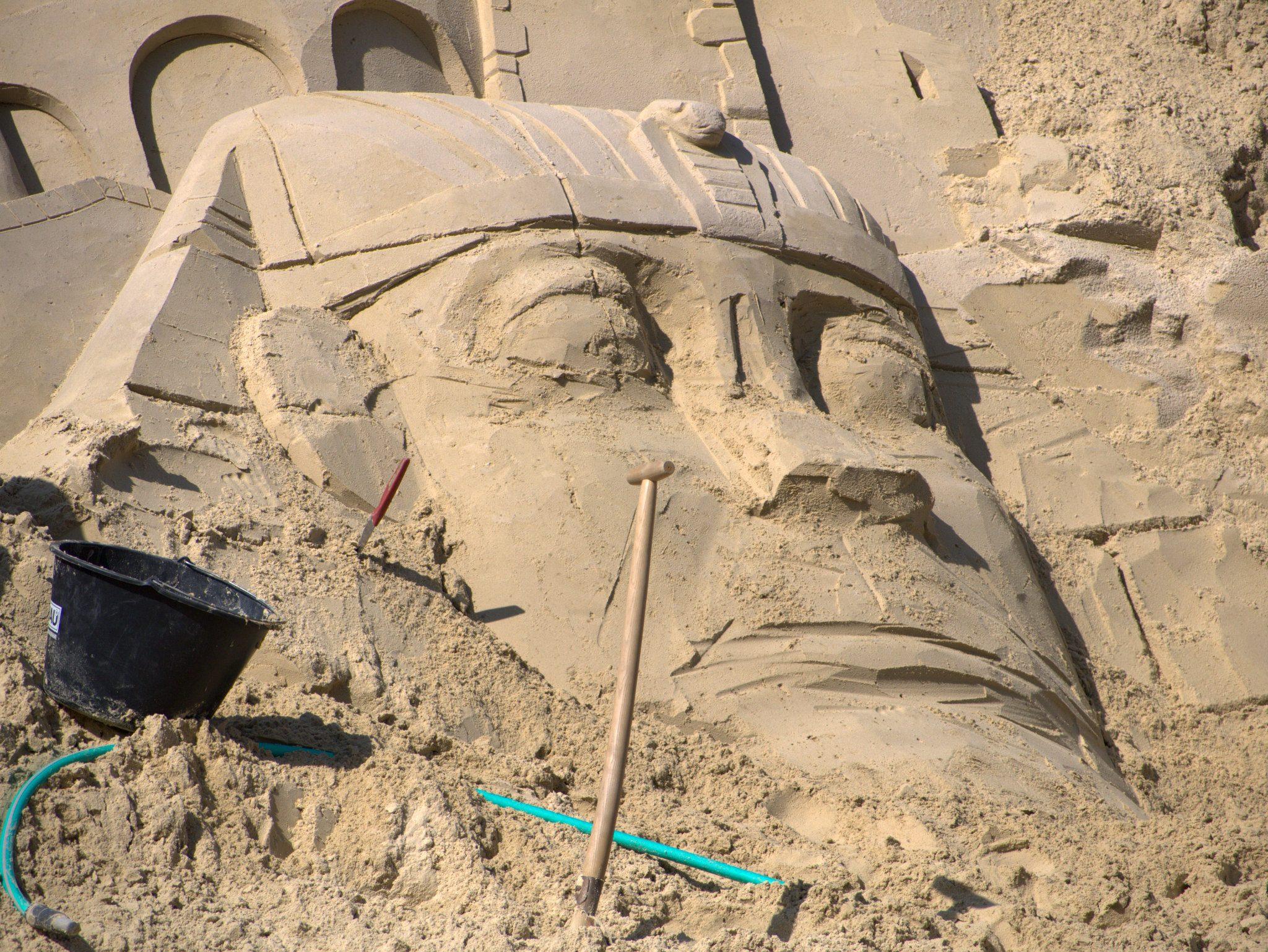 Da schlummerte was Jahrtausende unter dem Sand!