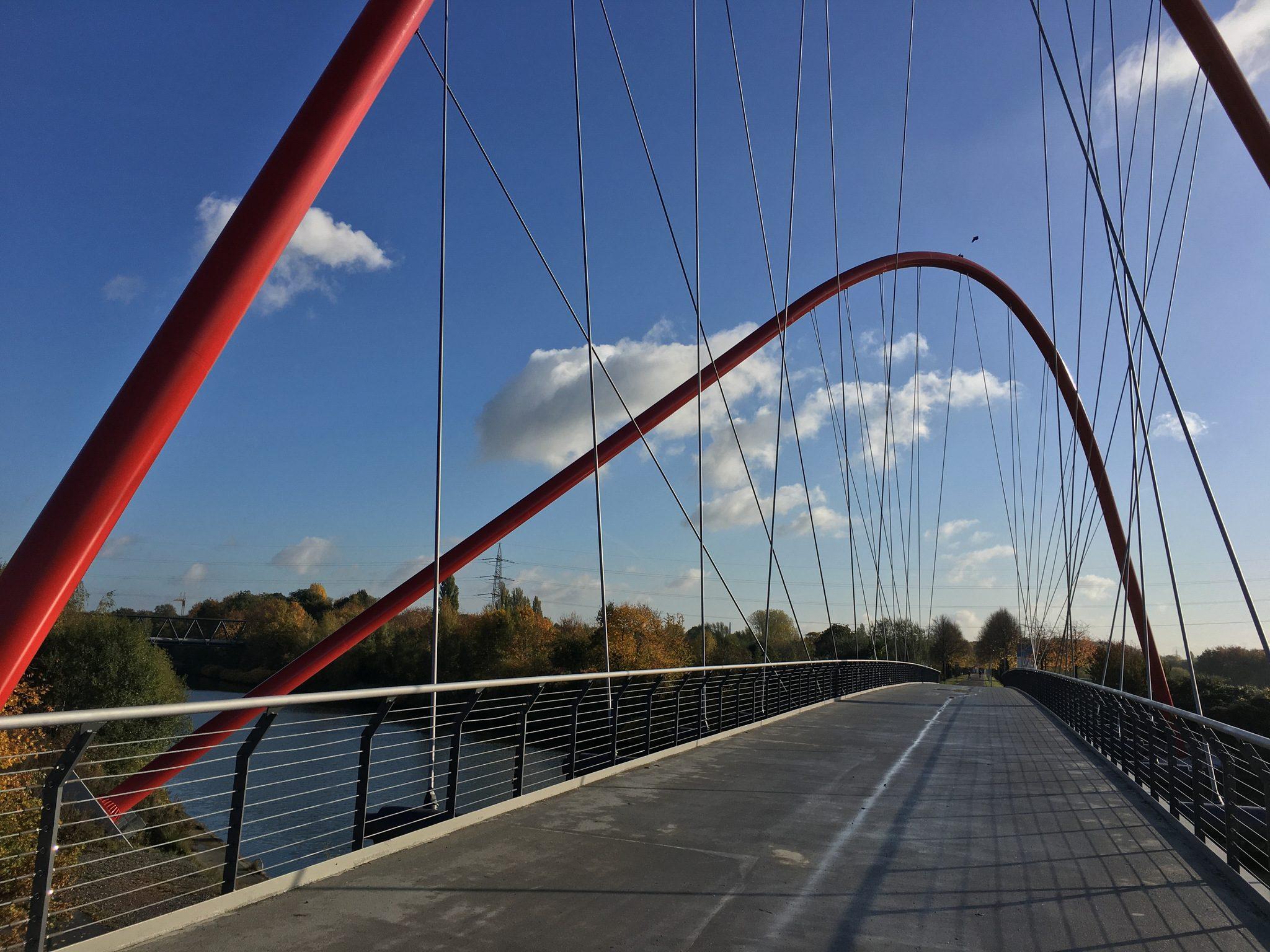 Doppelbogenbrücke Nordsternpark.