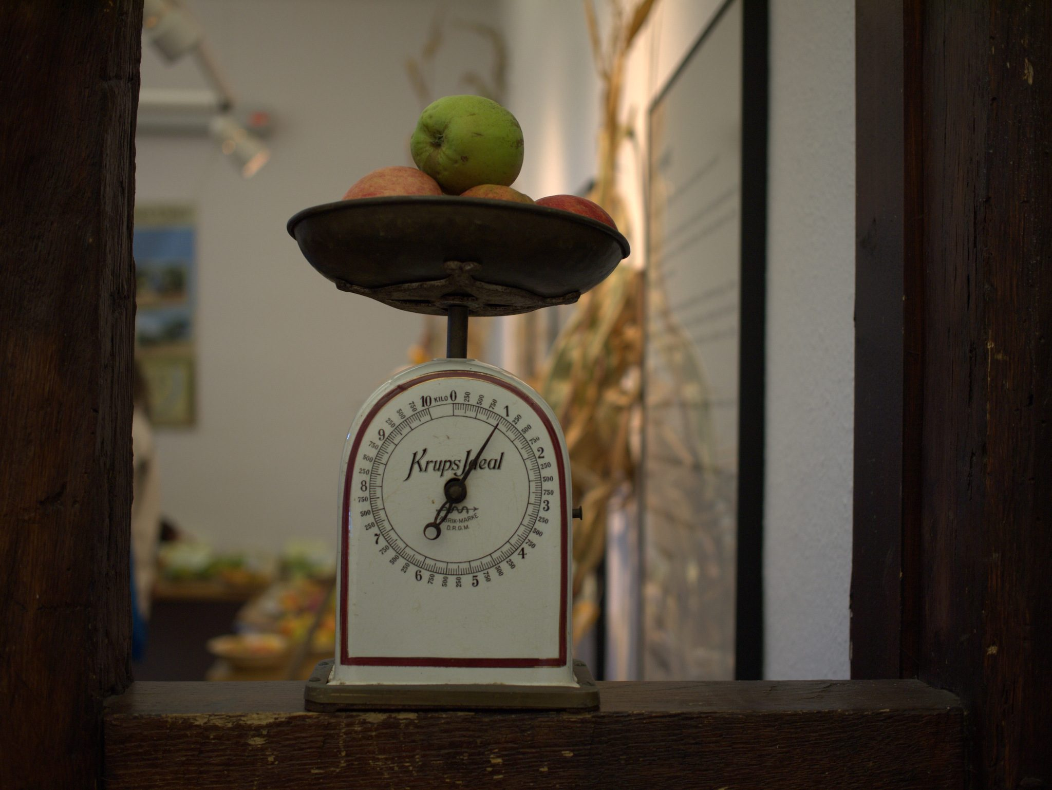 Ein Kilogramm Äpfel, bitte!
