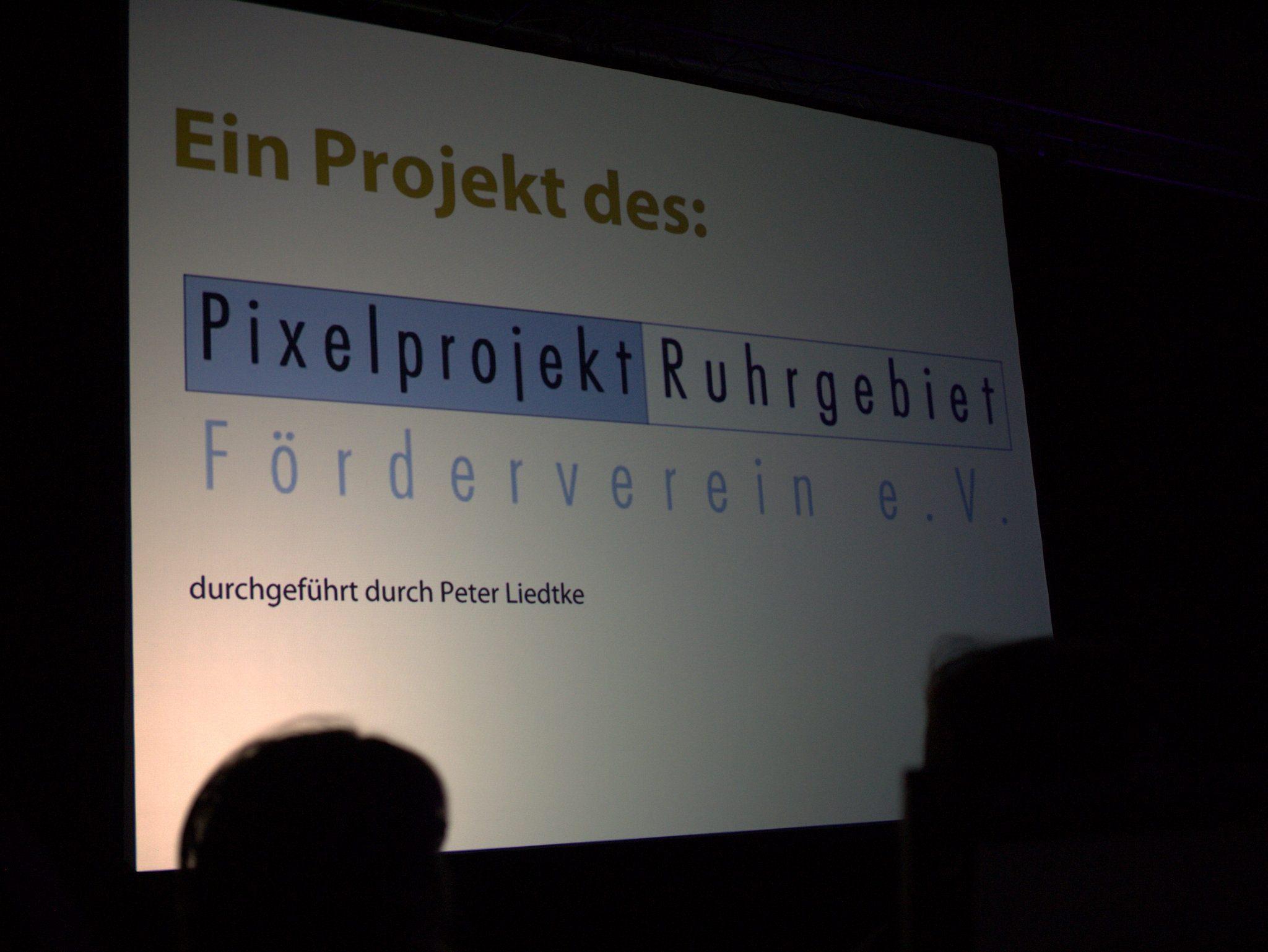 Ein Projekt des Pixelprojekt Ruhrgebiet Förderverein e.V.