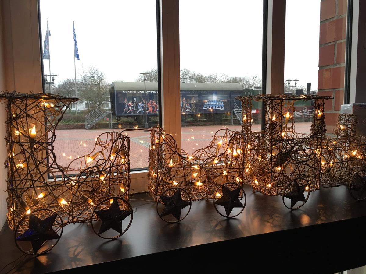 Starlight Express zur Weihnachtszeit.