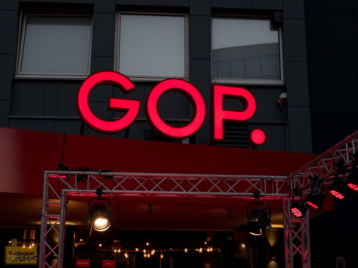 Das GOP Varieté in Essen.