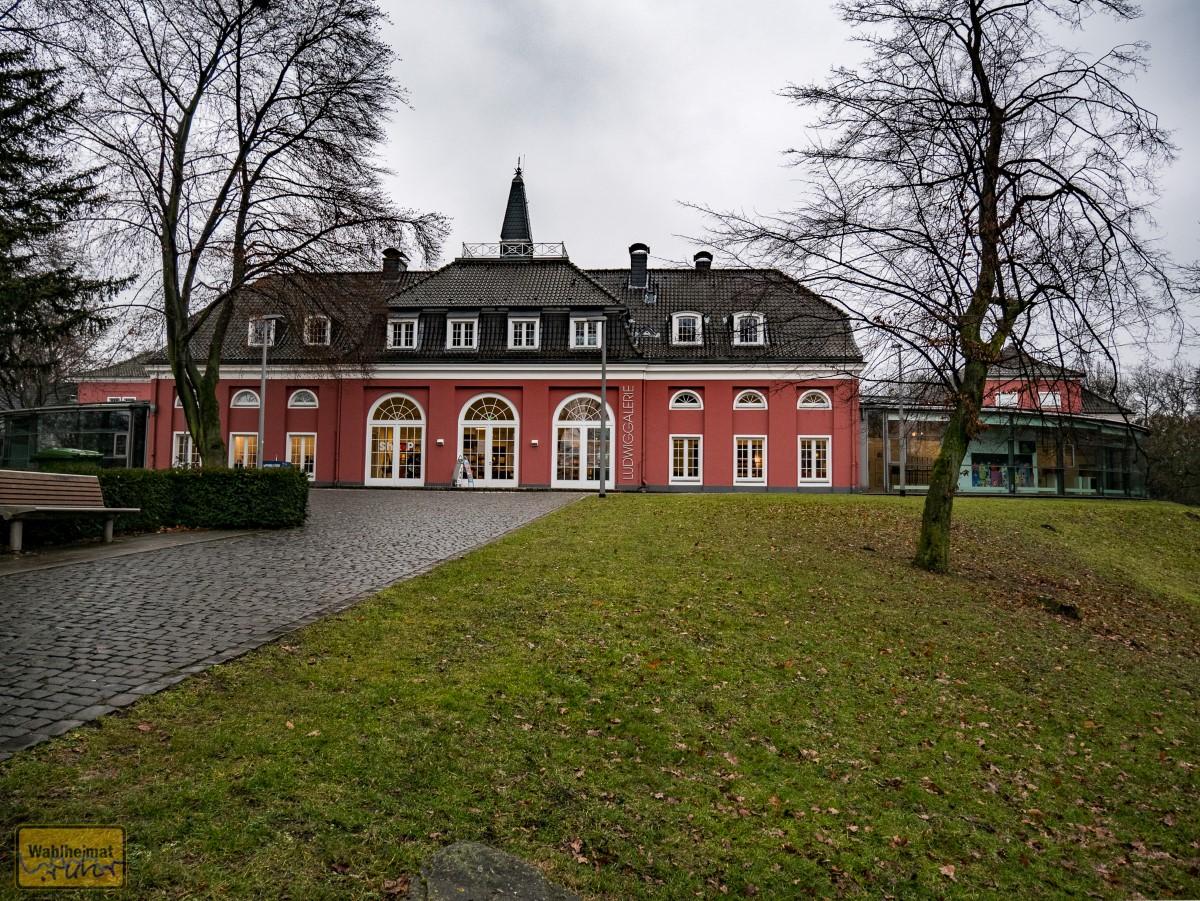 Schloss Oberhausen vom Kaisergarten aus.