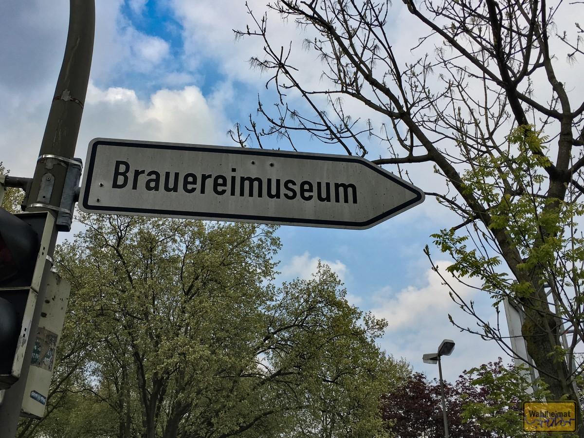 Da geht's zum Brauereimuseum: Steigerstr. 16 in Dortmund.