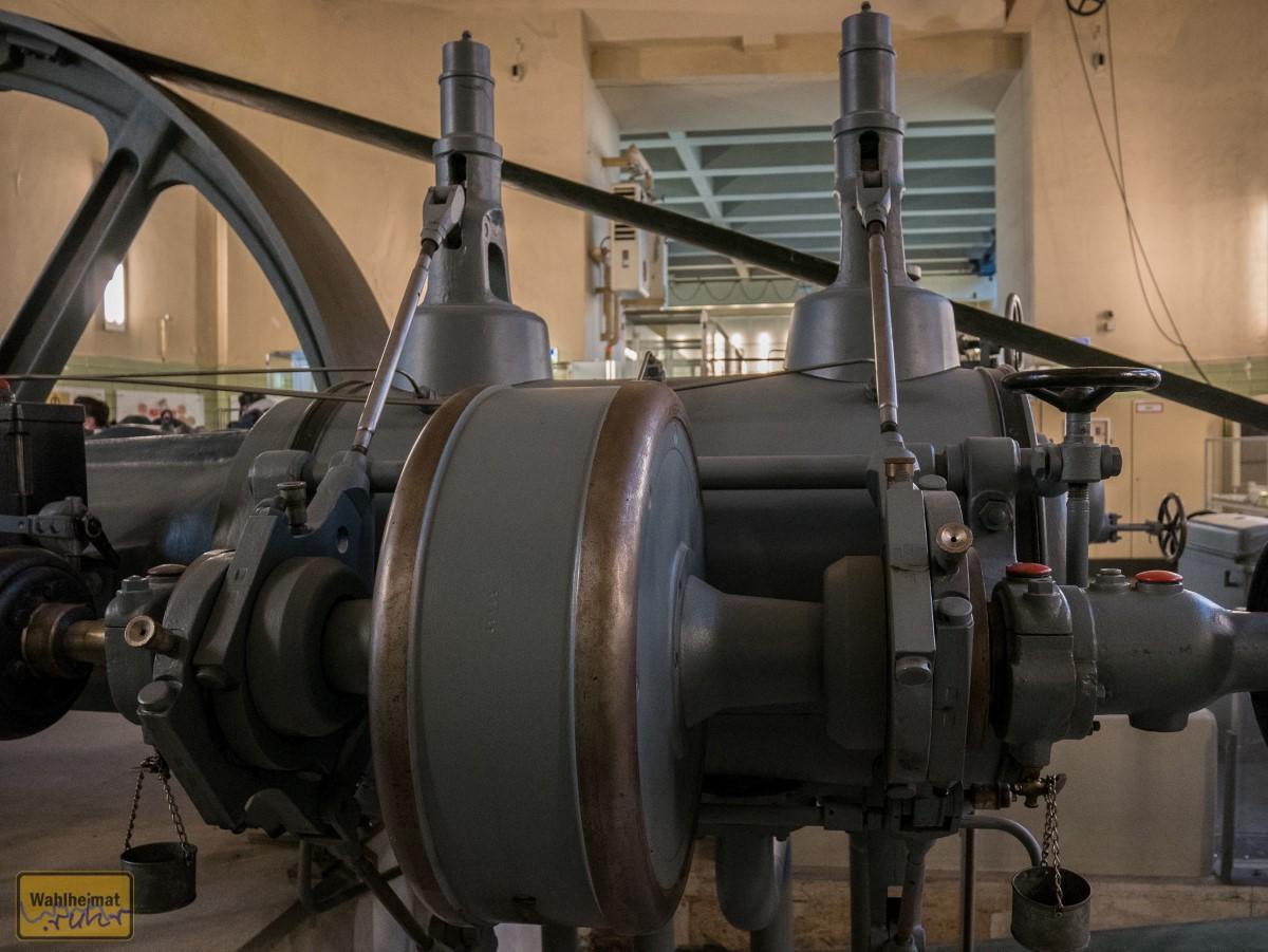 Detailblick an den Kompressor.