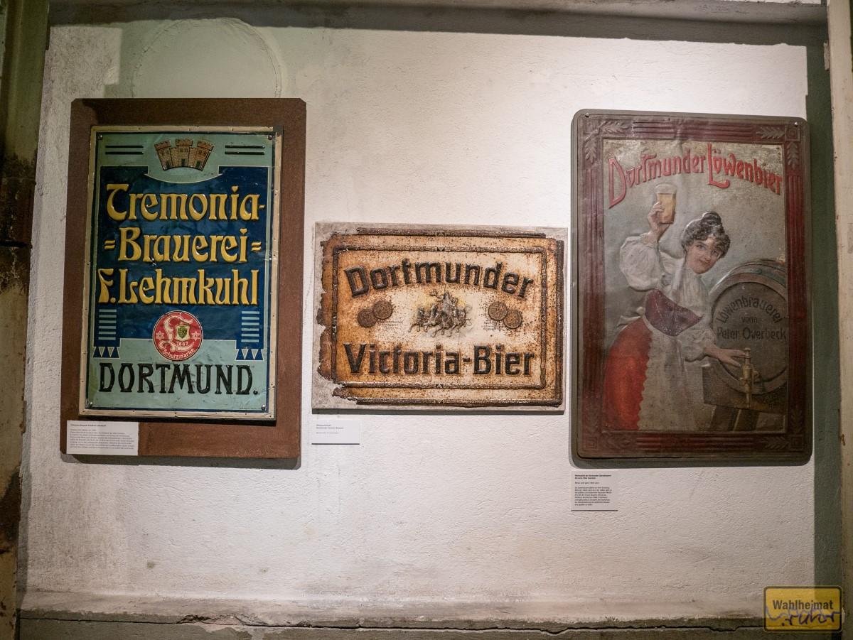 Reklameschildchen in Emaille.