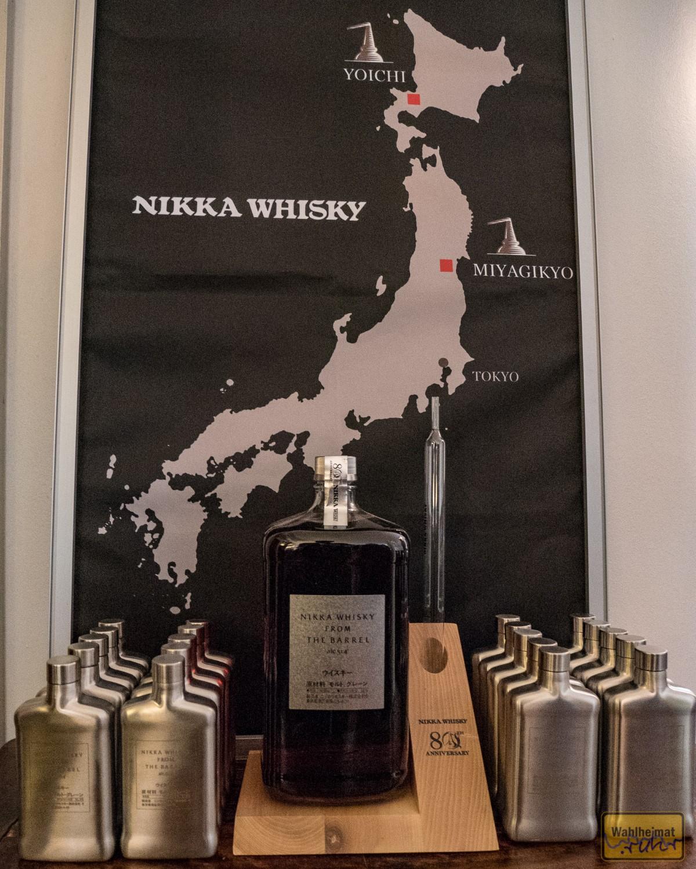 Die zwei Whisky-Brennereien von Nikka: Yoichi und Miyagikyo.