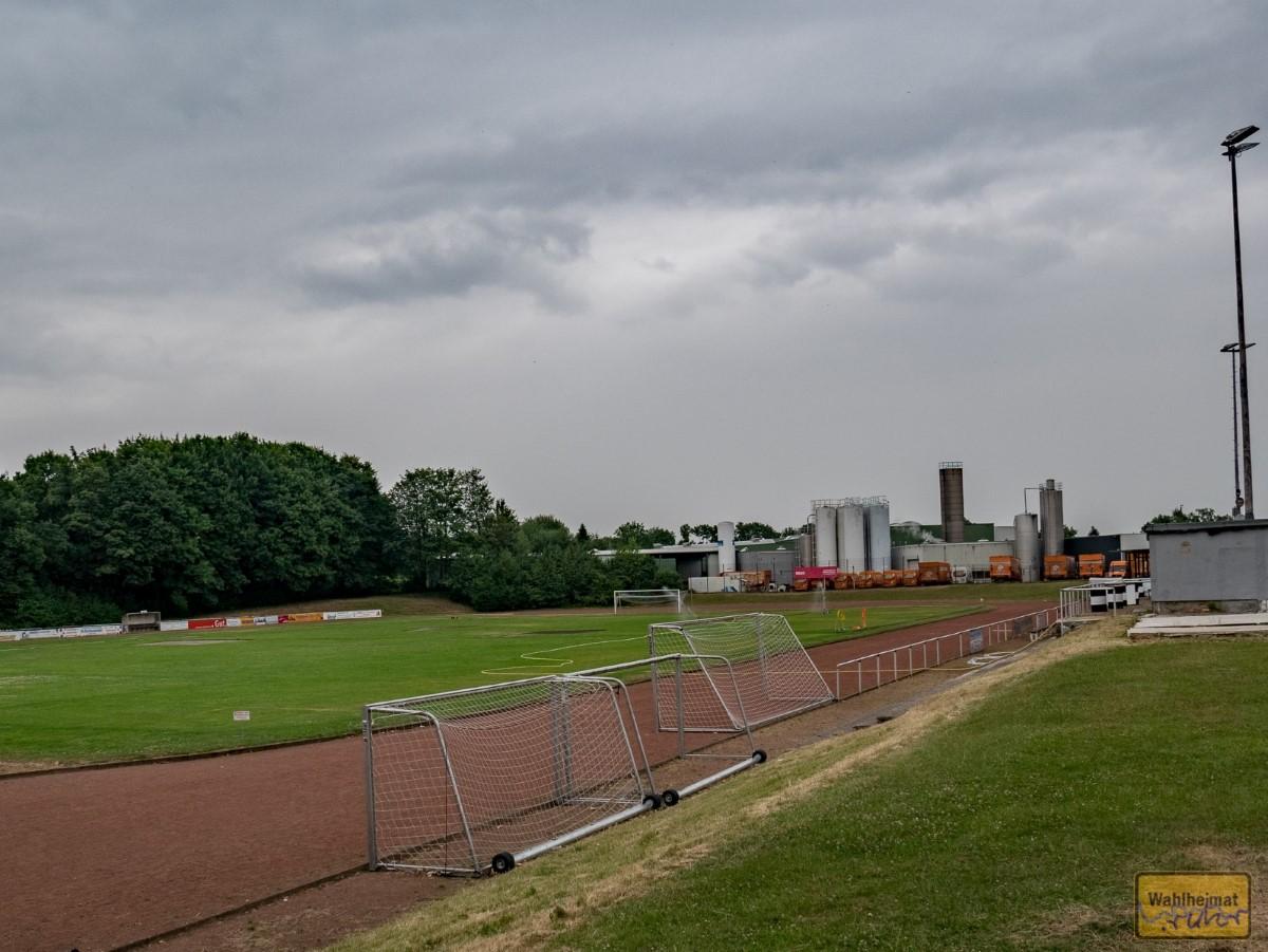 Ort für das Sommerfest von der Spielvereinigung: der Fuppes-Platz von...