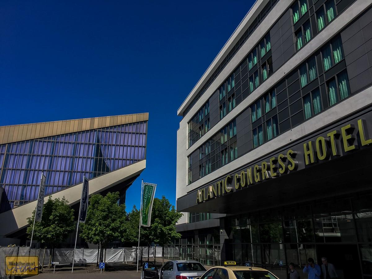 Das Atlantic Congress-Hotel - direkt an der Messe Essen.