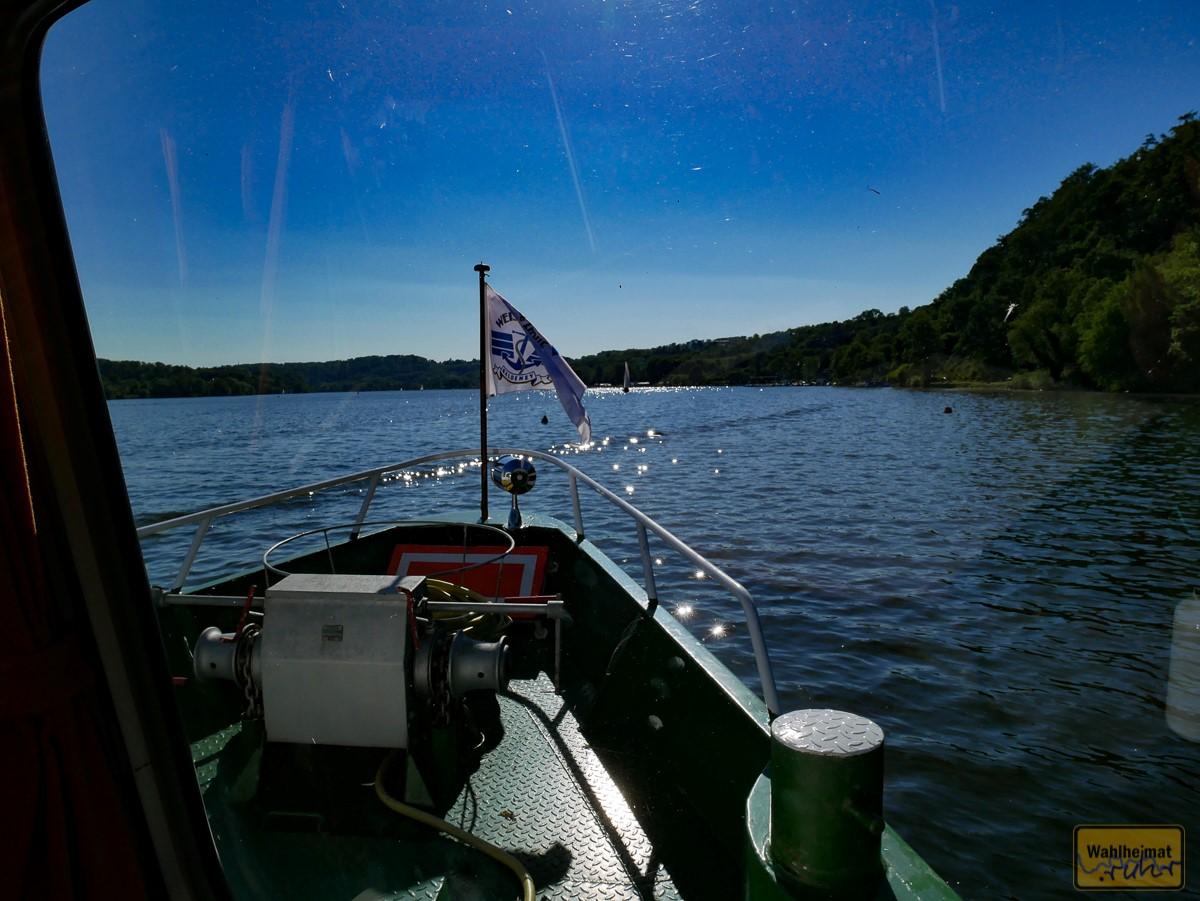 Jetzt fahr'n wir über'n See, über'n See...