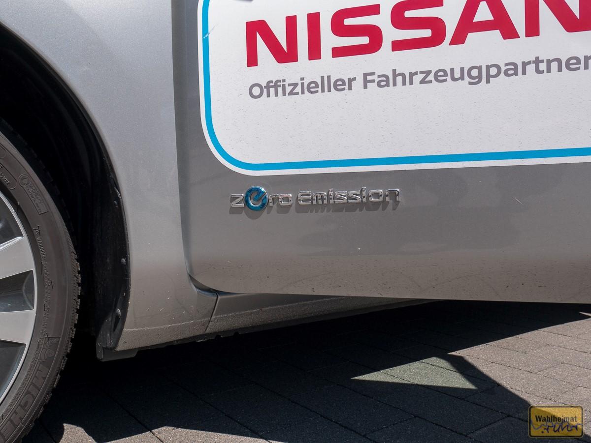 Zero Emission: mit Nissan auf Tour.