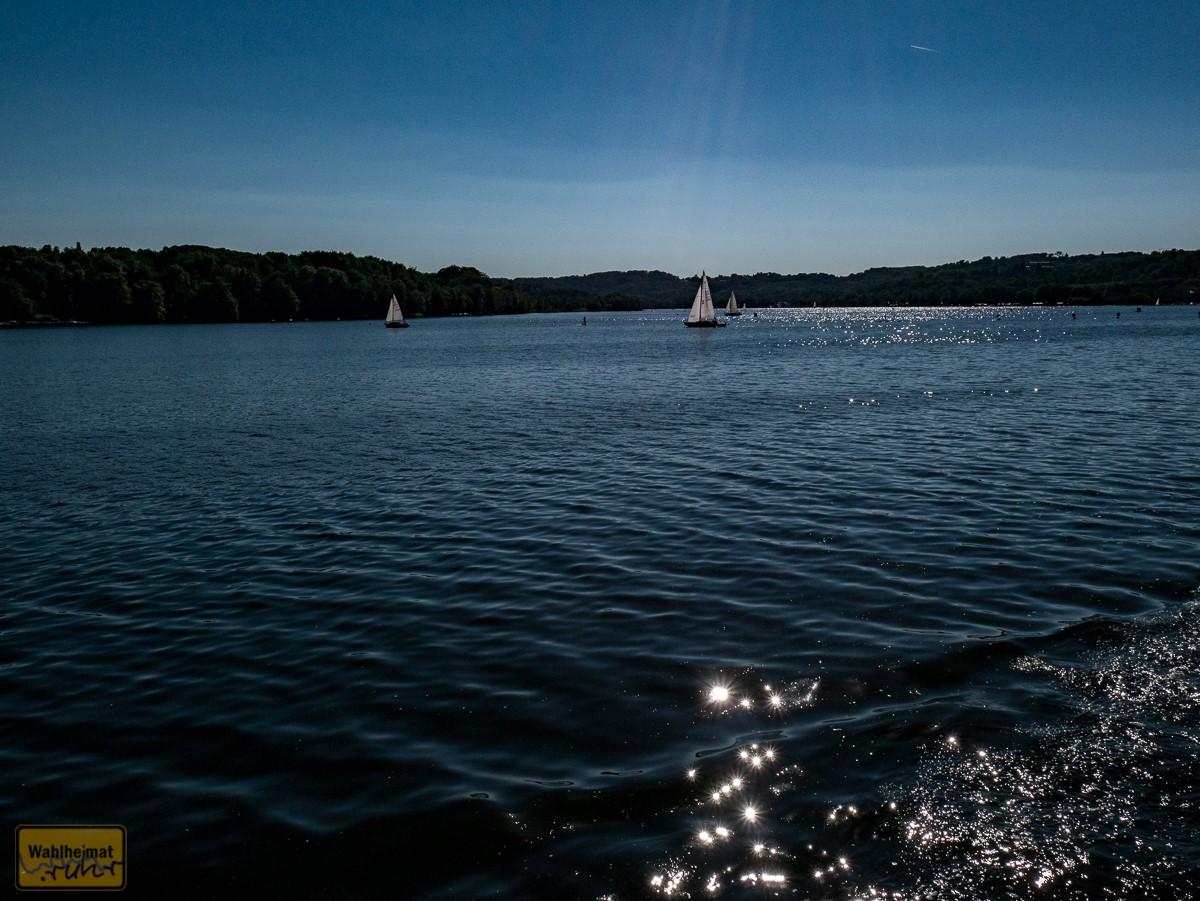 Andere fahren auch über'n See...