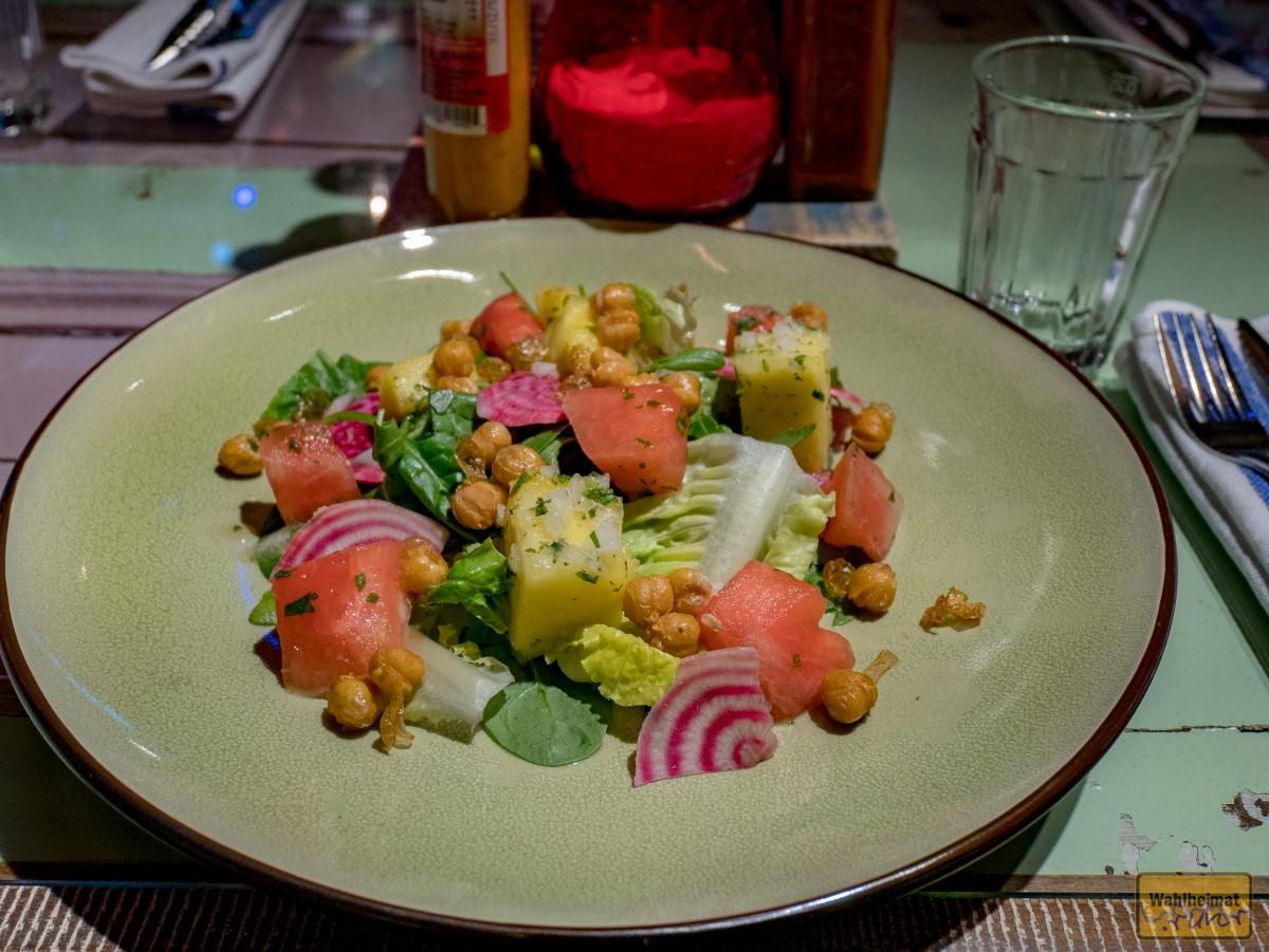 Südostindische Küche mit Salaten...