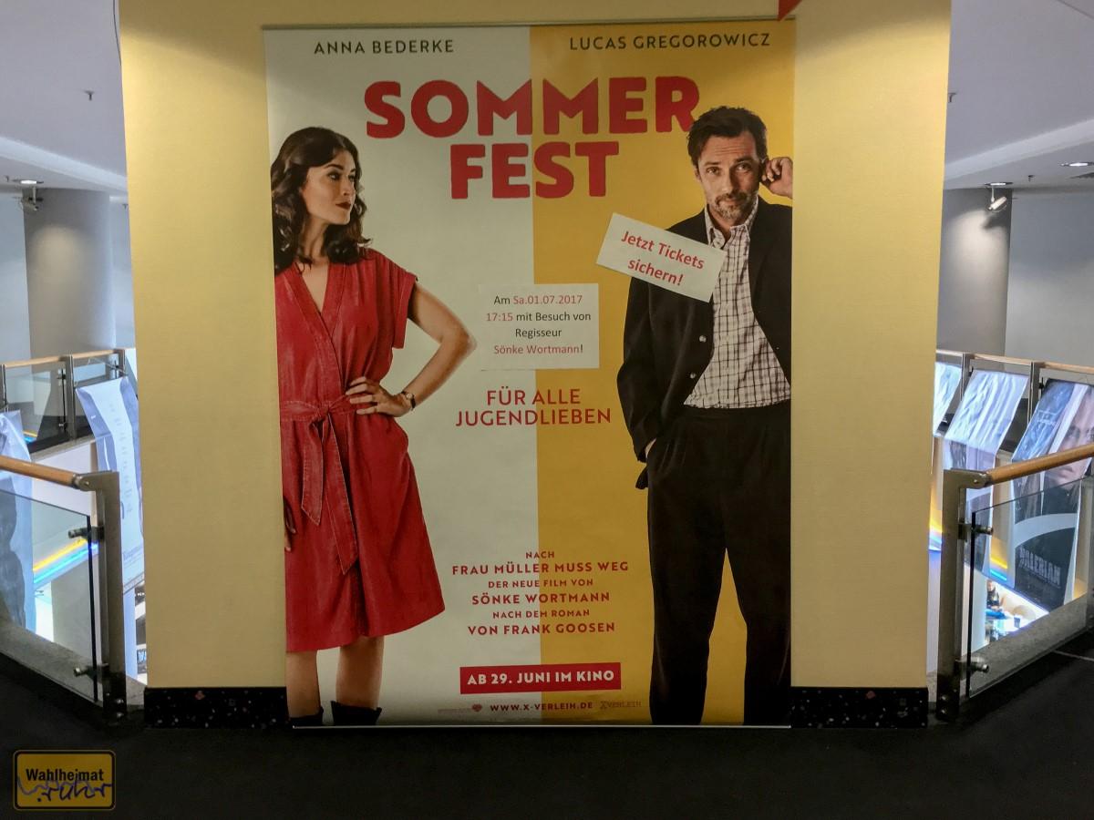 Sommerfest auf Kinotour.
