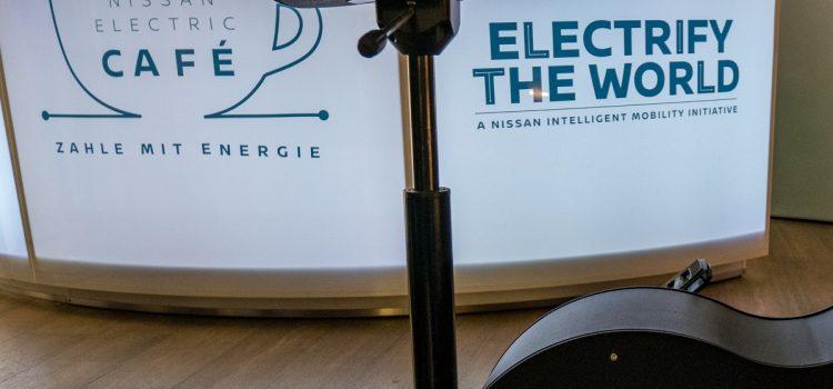 Das Nissan Electric Café zu Gast in der Grünen Hauptstadt Essen