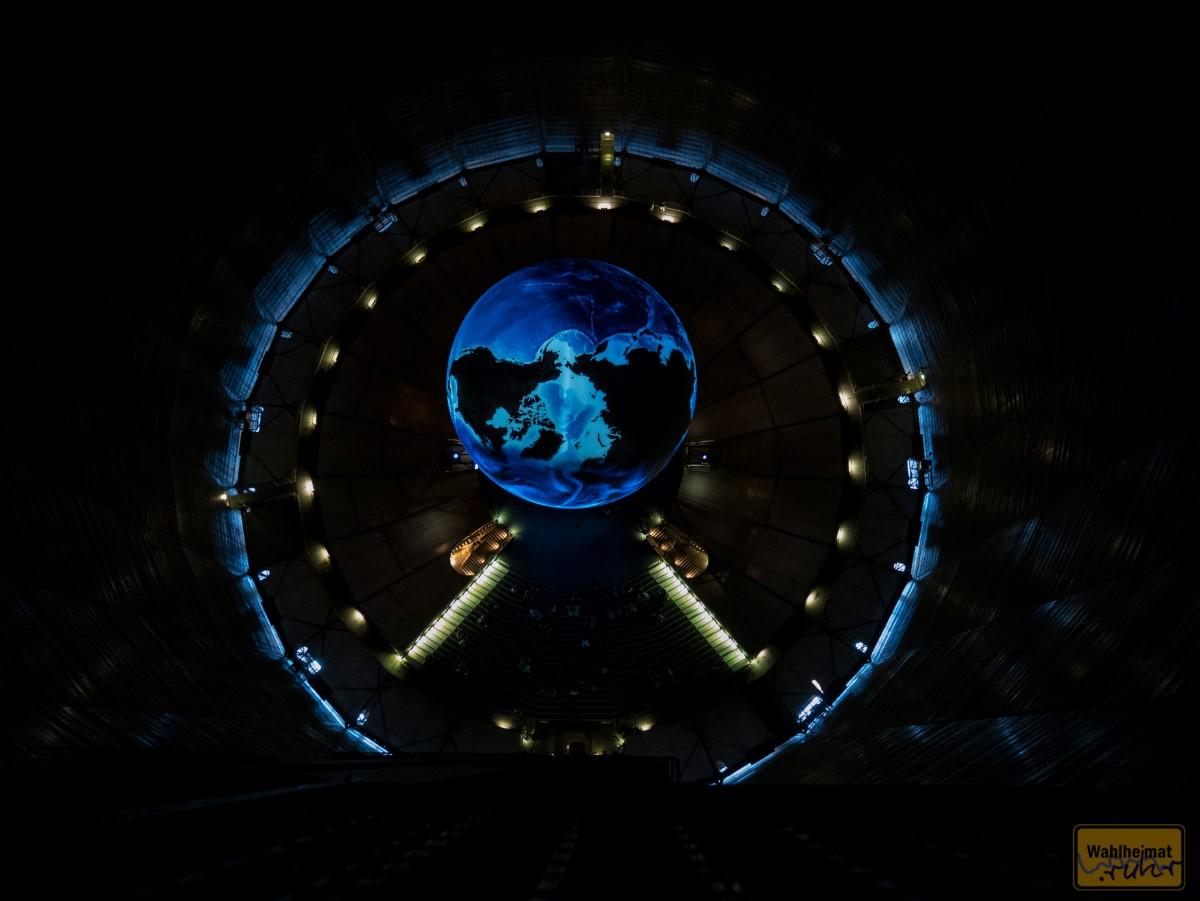 Ein Wahnsinnsblick auf die Erde - wie aus dem Weltraum!