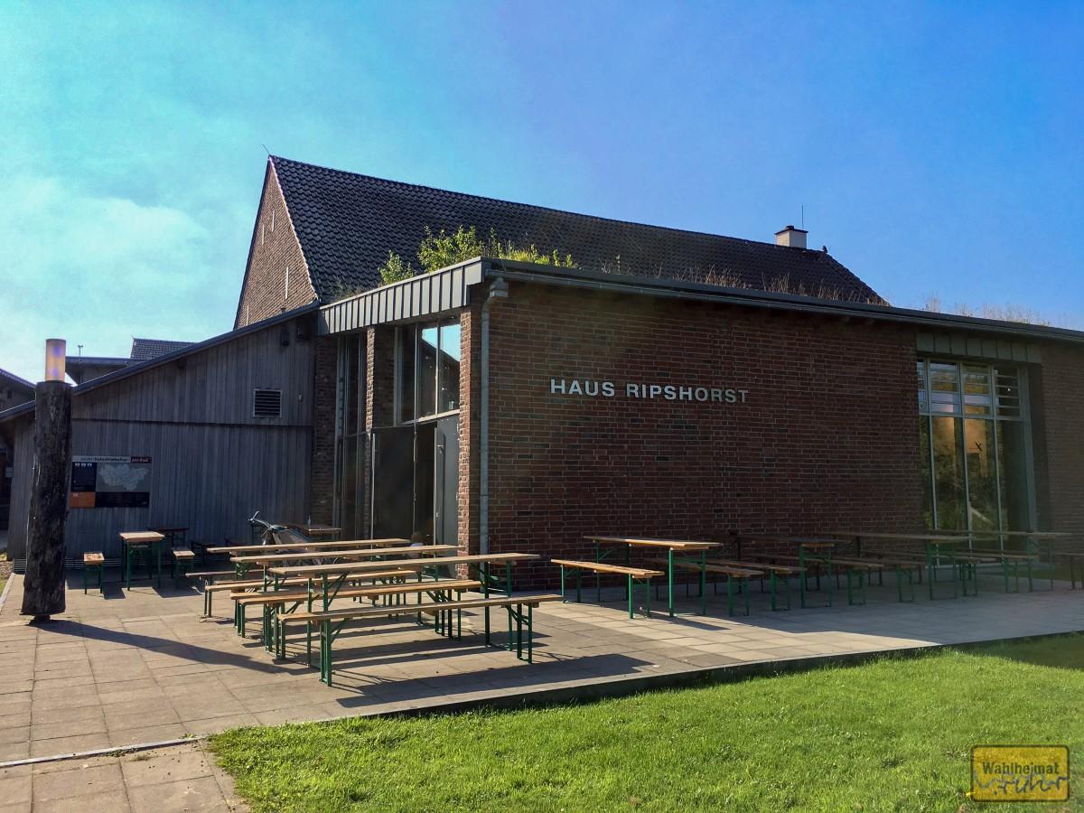 Die Gebäude von Haus Ripshorst waren einst Adelssitz, jetzt steht hier ein Informationszentrum.