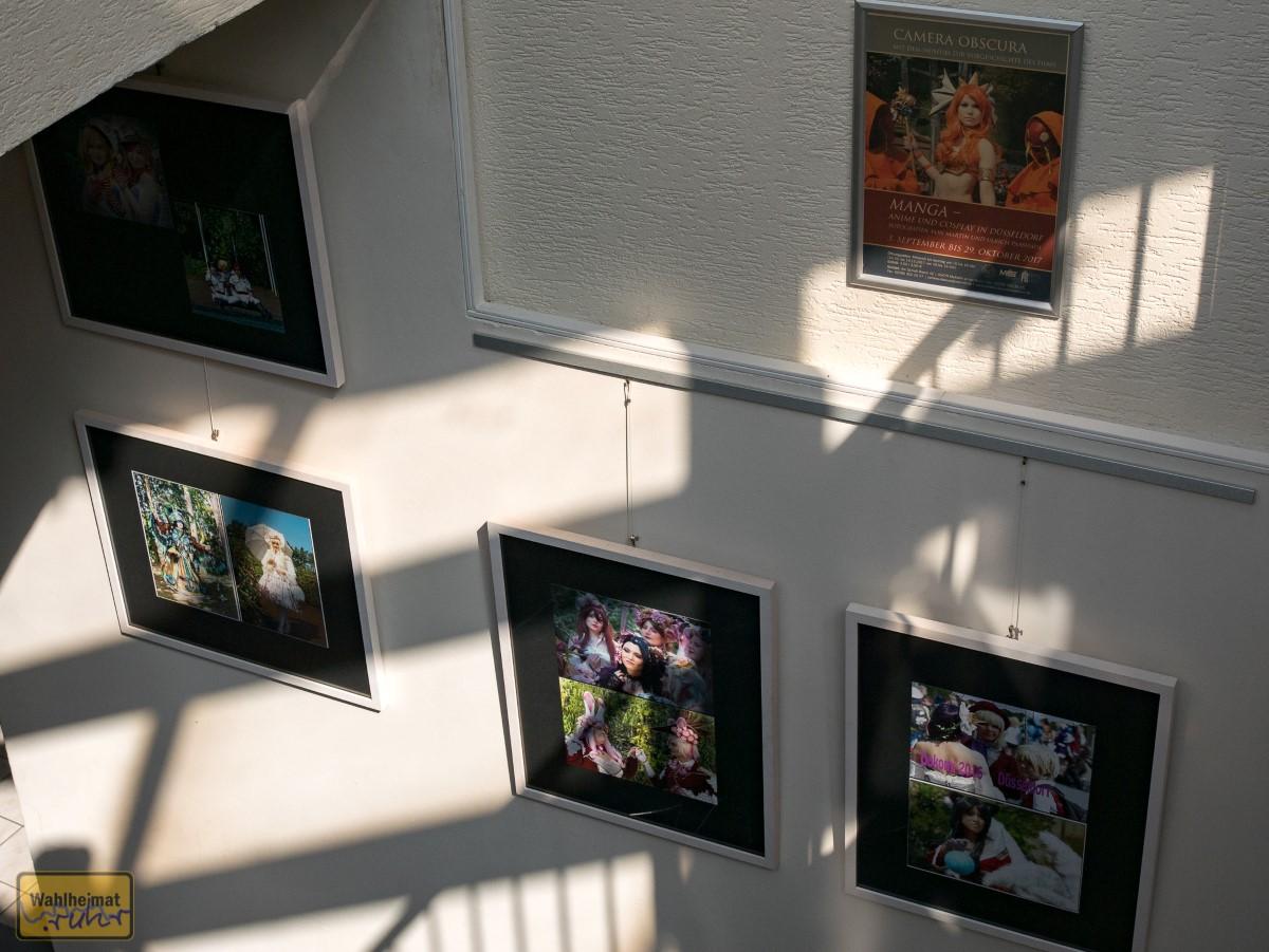 Die Wechselausstellung befindet sich im Souterrain der Camera Obscura.
