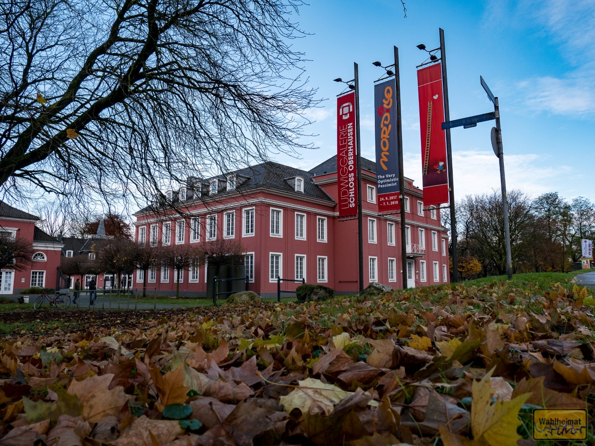 Im Schloss Oberhausen ist die Ludwiggalerie zuhause.