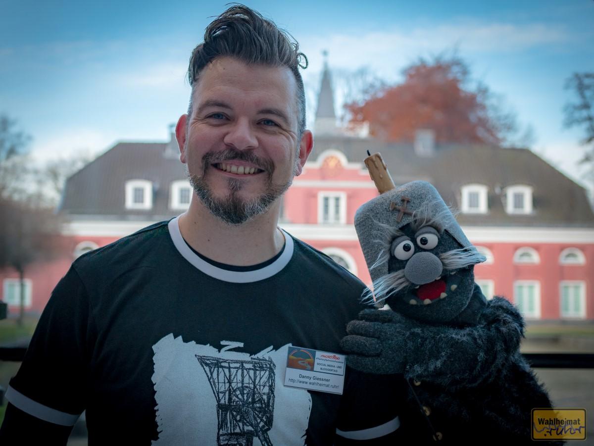 Auch mit von der Party: Opa Hausen - das Oberhausener Original! Extra für mich hat er ein neues Hemd angezogen, hat er mir erzählt...