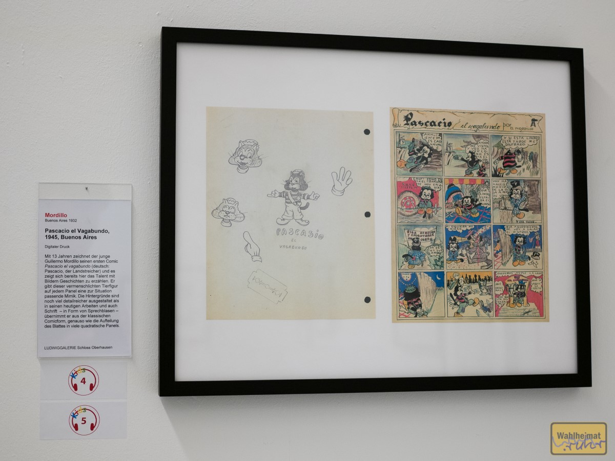 Mit 13 steigt der 1932 geborene Mordillo ins Comiczeichnen ein. Seinen Traum, einmal bei Disney zu arbeiten, hat er nie erreicht. Eine erfolgreiche Marke ist der trotzdem geworden - und was für eine!